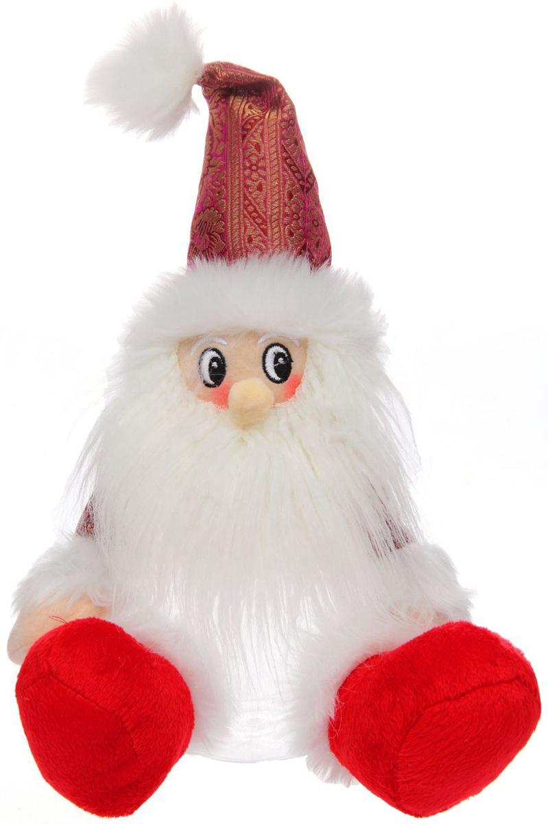 Подарочная упаковка Sima-land Дед мороз, с ножками, цвет: красный, белый, вместимость 320 г1050220Стильная подарочная упаковка Sima-land Дед мороз изготовлена из текстиля и искусственного меха. Упаковка выполнена в виде Деда Мороза и дополнена прозрачной пластиковой банкой для сладких подарков. Яркий символичный персонаж создаст новогоднее настроение. Креативная упаковка сделает ваш презент особенным и самым запоминающимся.Вместительность: 320 г.