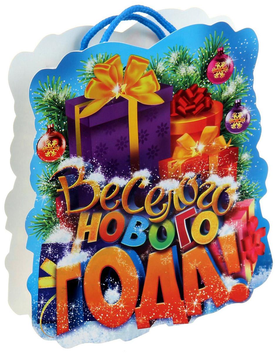 Пакет-открытка Sima-land Подарки, 12 х 15 см открытка хочун именинник 10 х 15 см