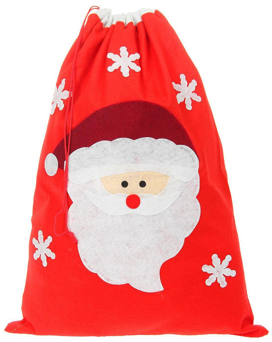 Мешок новогодний Страна Карнавалия Дед мороз, цвет: красный1074553Оригинальная упаковка выделит презент из массы других, расскажет о ваших теплых чувствах, наполнит праздник сказочной атмосферой.Мешок новогодний Страна Карнавалия Дед мороз - это отличный выбор, который привнесет атмосферу праздника в ваш дом!