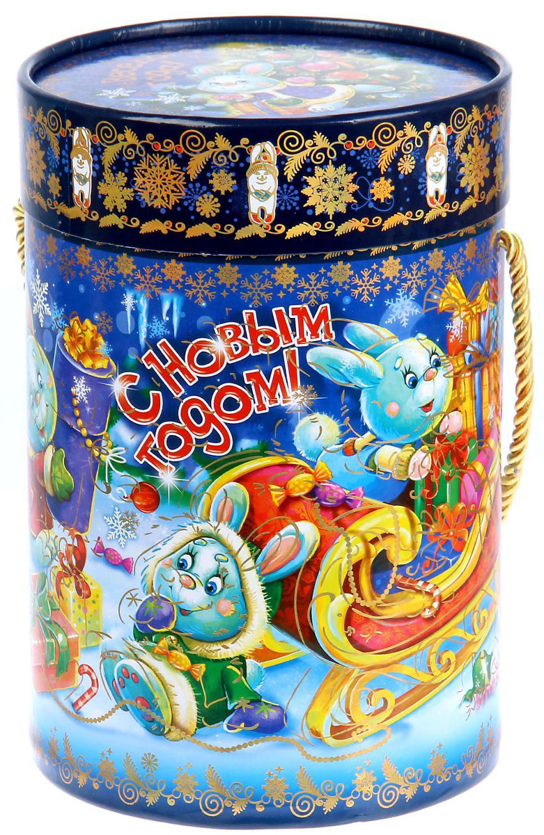 Коробка-тубус подарочная Sima-land Зайчата, 13,5 х 19 см1118882Любой подарок начинается с упаковки. Что может быть трогательнее и волшебнее, чем ритуал разворачивания полученного презента. И именно оригинальная, со вкусом выбранная упаковка выделит ваш подарок из массы других. Подарочная коробка-тубус Sima-land продемонстрирует самые теплые чувства к виновнику торжества и создаст сказочную атмосферу праздника.