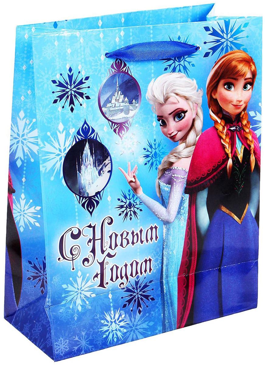 Пакет подарочный Disney С Новым Годом, 18 х 23 см. 1120640 disney гирлянда детская на люверсах с новым годом тачки 198 см