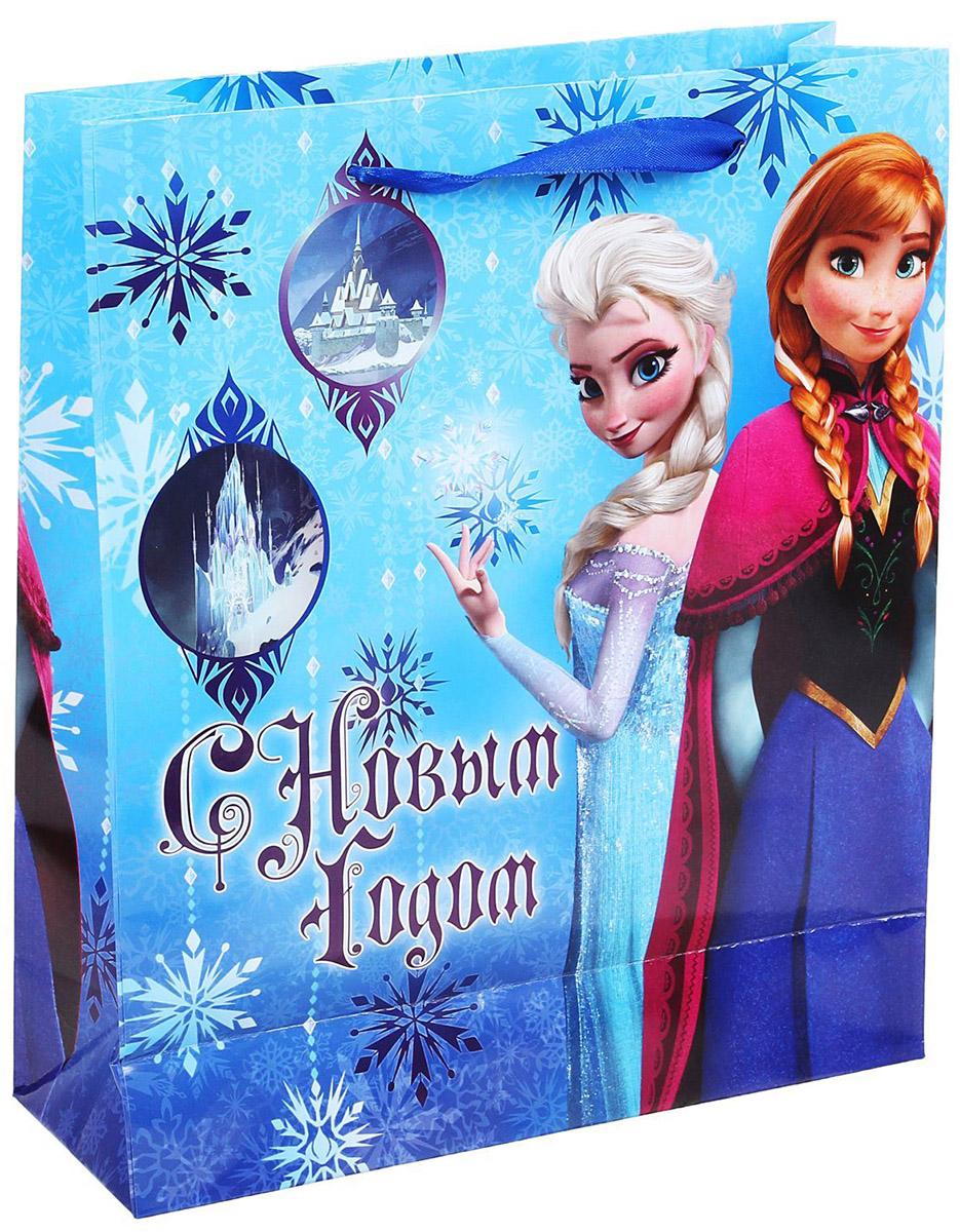 Пакет подарочный Disney С Новым Годом, 23 х 27 см. 11206411120641Подарочный пакет Disney С Новым Годом, изготовленный из картона, станет незаменимым дополнением к выбранному подарку. Для удобной переноски на пакете имеются две ручки. Подарок, преподнесенный в оригинальной упаковке, всегда будет самымэффектным и запоминающимся. Окружите близких людей вниманием и заботой, вручив презент в нарядном, праздничном оформлении.