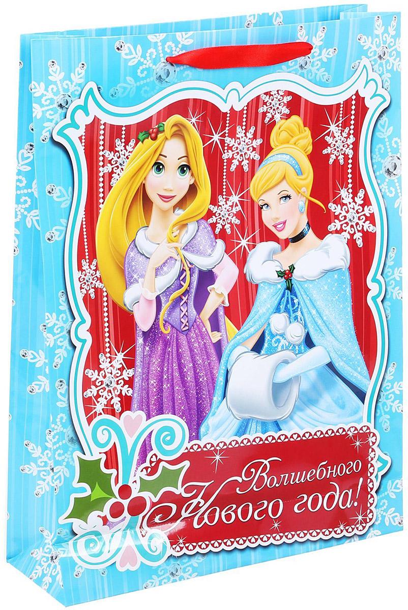 Пакет подарочный Disney Волшебного Нового Года, 31 х 40 см. 11206591120659Подарочный пакет Disney Волшебного Нового Года, изготовленный из картона, станет незаменимым дополнением к выбранному подарку. Для удобной переноски на пакете имеются две ручки. Подарок, преподнесенный в оригинальной упаковке, всегда будет самымэффектным и запоминающимся. Окружите близких людей вниманием и заботой, вручив презент в нарядном, праздничном оформлении.