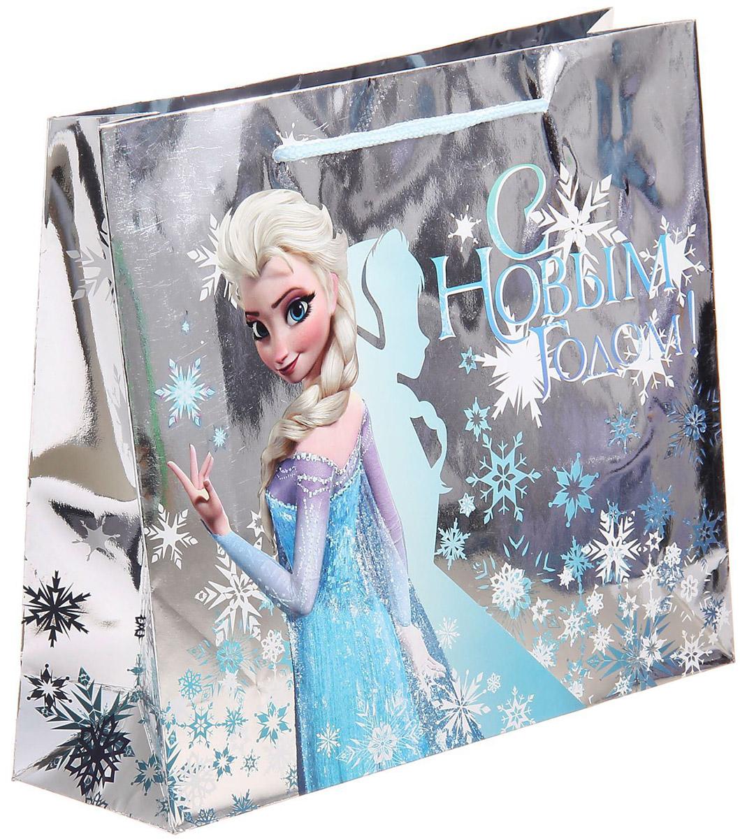 Пакет подарочный Disney Холодное сердце. С Новым годом!, голография, горизонтальный, 18 x 23 см1121633Подарочный пакет Disney Холодное сердце. С Новым годом!, изготовленный из картона, станет незаменимым дополнением к выбранному подарку. Для удобной переноски на пакете имеются две ручки. Подарок, преподнесенный в оригинальной упаковке, всегда будет самымэффектным и запоминающимся. Окружите близких людей вниманием и заботой, вручив презент в нарядном, праздничном оформлении.
