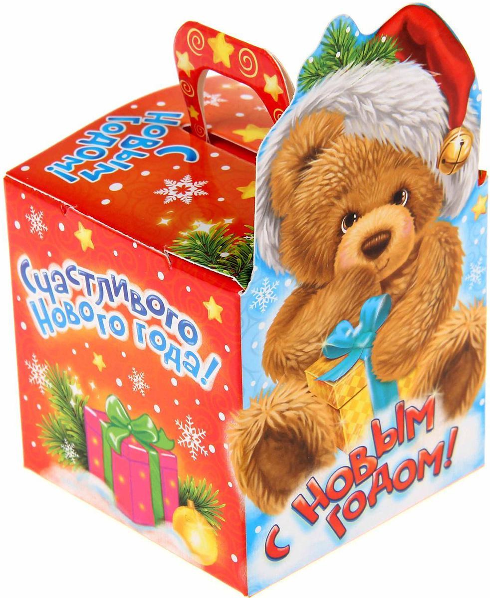 Коробка сборная фигурная Sima-land Мишка, 12 х 7 см1123306Любой подарок начинается с упаковки. Что может быть трогательнее и волшебнее, чем ритуал разворачивания полученного презента. И именно оригинальная, со вкусом выбранная упаковка выделит ваш подарок из массы других. Подарочная коробка Sima-land продемонстрирует самые теплые чувства к виновнику торжества и создаст сказочную атмосферу праздника.