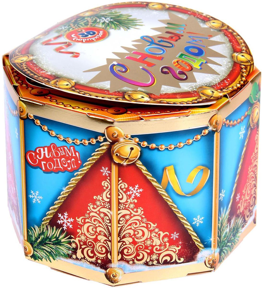 Коробка складная Sima-land Заяц с барабаном, 17 х 17 х 12,5 см1128418Любой подарок начинается с упаковки. Что может быть трогательнее и волшебнее, чем ритуал разворачивания полученного презента. И именно оригинальная, со вкусом выбранная упаковка выделит ваш подарок из массы других. Она продемонстрирует самые теплые чувства к виновнику торжества и создаст сказочную атмосферу праздника.