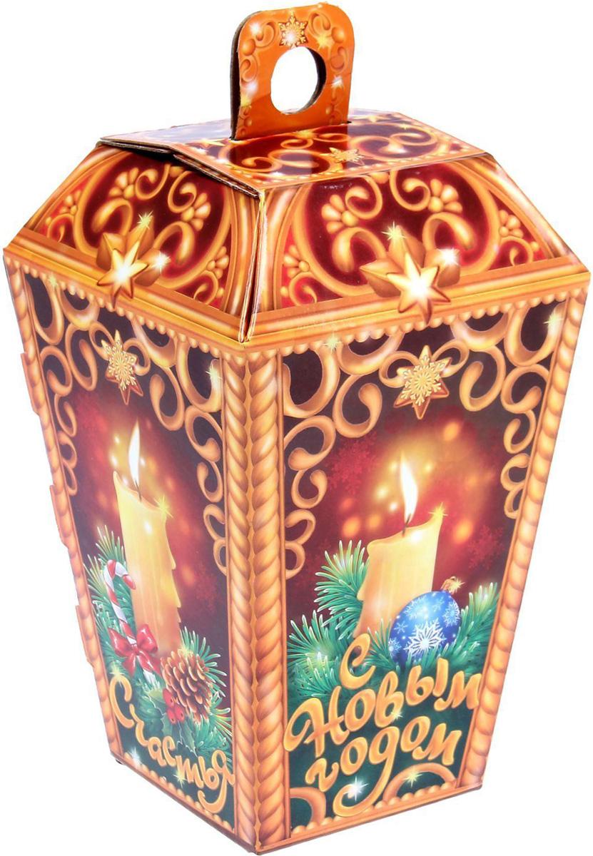 Коробка складная Sima-land Фонарь, 12 х 20 х 8 см1129029Любой подарок начинается с упаковки. Что может быть трогательнее и волшебнее, чем ритуал разворачивания полученного презента. И именно оригинальная, со вкусом выбранная упаковка выделит ваш подарок из массы других. Подарочная коробка Sima-land продемонстрирует самые теплые чувства к виновнику торжества и создаст сказочную атмосферу праздника.