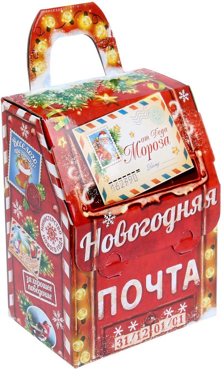 Коробка складная Sima-land Почта, 15 х 20 х 10 см1129030Любой подарок начинается с упаковки. Что может быть трогательнее и волшебнее, чем ритуал разворачивания полученного презента. И именно оригинальная, со вкусом выбранная упаковка выделит ваш подарок из массы других. Подарочная коробка Sima-land продемонстрирует самые теплые чувства к виновнику торжества и создаст сказочную атмосферу праздника.