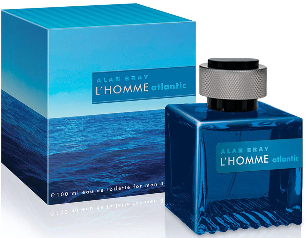 Alan Bray L'homme Atlantic Туалетная вода мужская, 100 мл