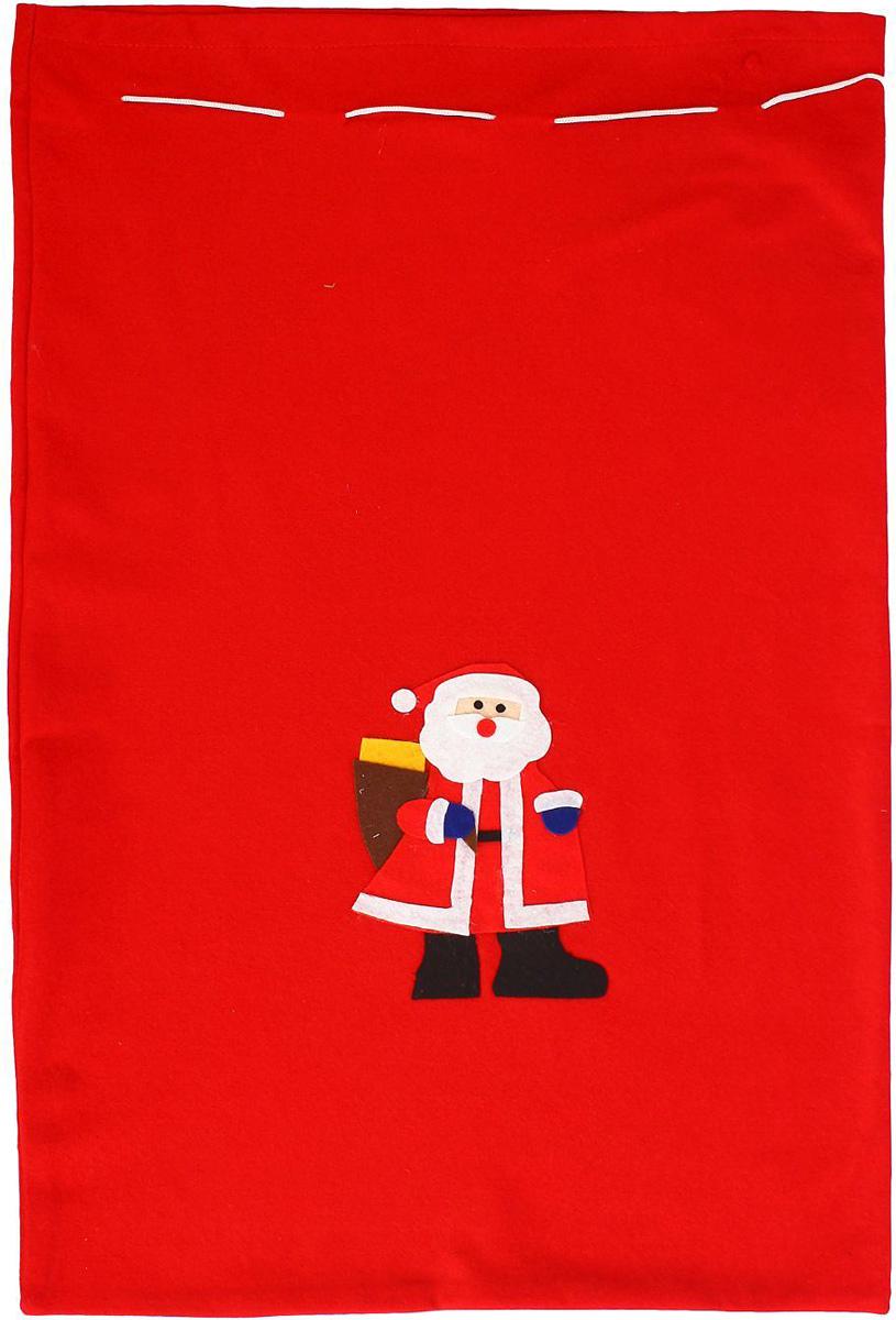 Мешок новогодний Sima-land Дедушка1305196Яркий мешок для подарков Sima-land выполнен из текстиля. Упаковка - это одна из важных составляющих самого подарка! Дарите ли вы сувениры родственникам, или выбираете подарок для самого близкого человека - правильно подобранная подарочная упаковка усилит радость от самого подарка и поднимет настроение.