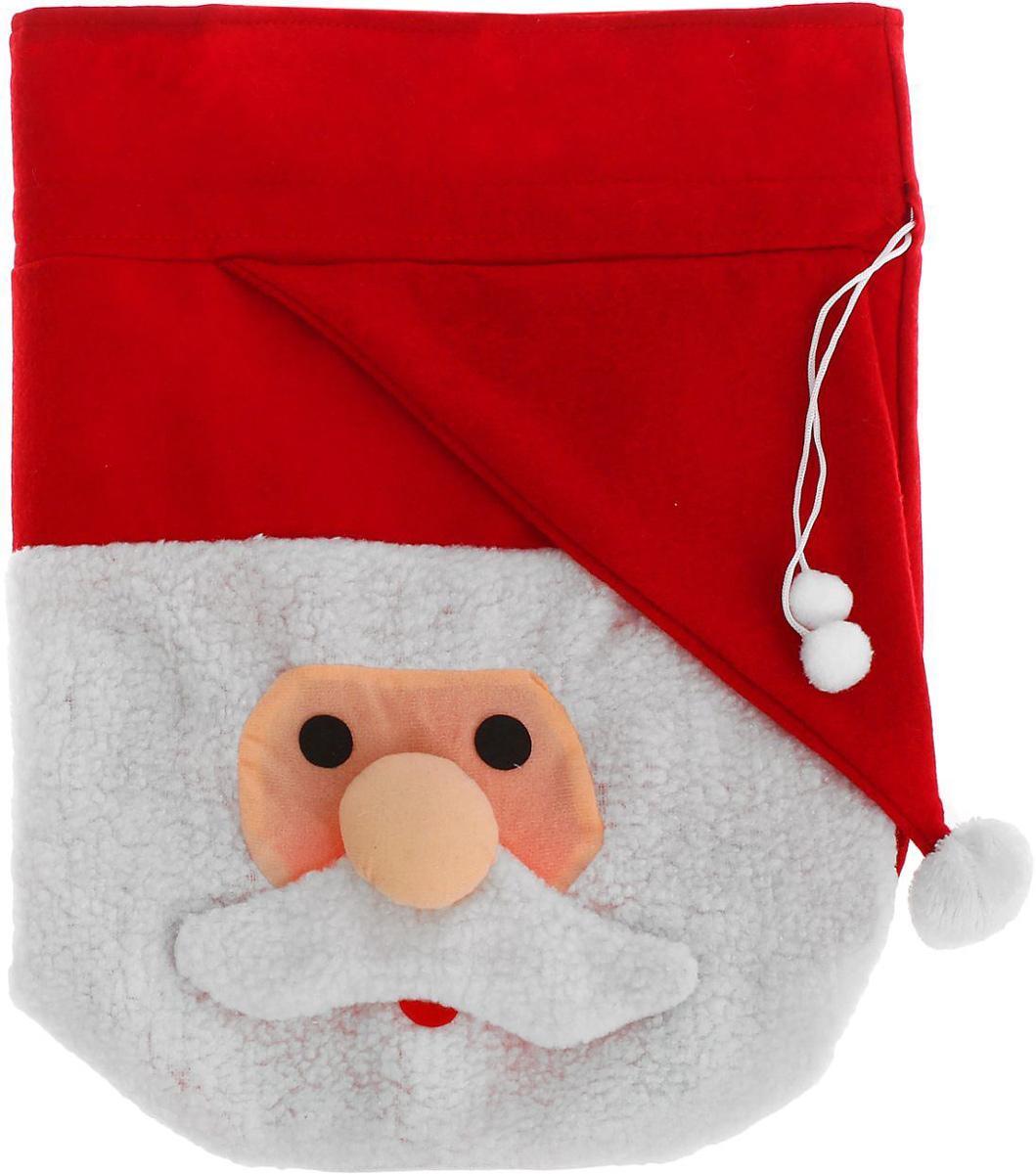 Мешок новогодний Sima-land Дедушка в колпаке1305198Яркий мешок для подарков Sima-land выполнен из текстиля. Упаковка - это одна из важных составляющих самого подарка! Дарите ли вы сувениры родственникам, или выбираете подарок для самого близкого человека - правильно подобранная подарочная упаковка усилит радость от самого подарка и поднимет настроение.