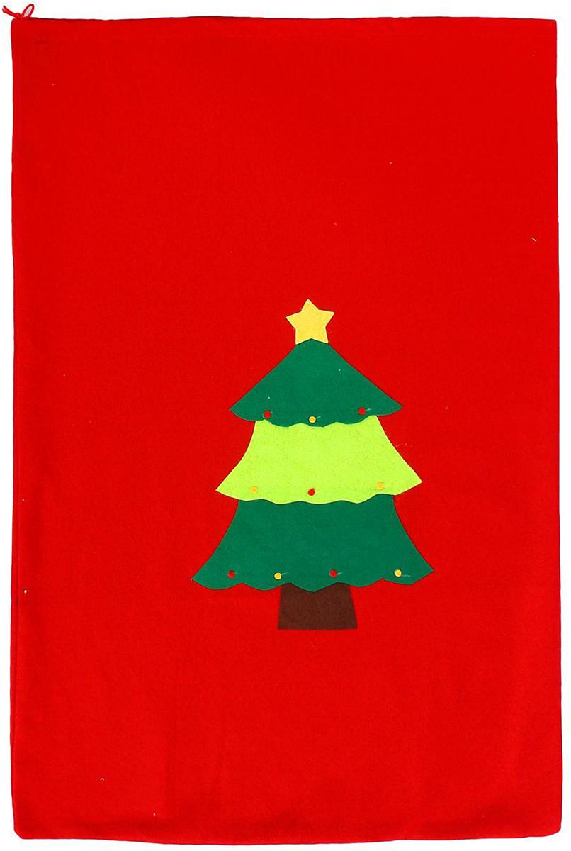 Мешок новогодний Sima-land Елочка1305208Яркий мешок для подарков Sima-land выполнен из текстиля. Упаковка - это одна из важных составляющих самого подарка! Дарите ли вы сувениры родственникам, или выбираете подарок для самого близкого человека - правильно подобранная подарочная упаковка усилит радость от самого подарка и поднимет настроение.