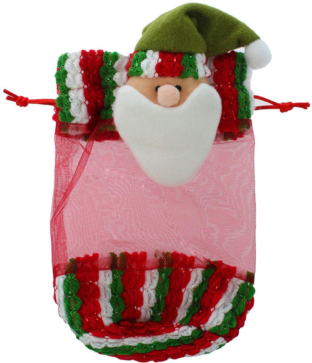 Мешок для подарков Sima-land Новогодний, вместимость 200 г, 18 х 4 см1308839Яркий мешок для подарков Sima-land выполнен из текстиля. Невозможно представить нашу жизнь без праздников! Мы всегда ждем их и предвкушаем, обдумываем, как проведем памятный день, тщательно выбираем подарки и аксессуары, ведь именно они создают и поддерживают торжественный настрой. Мешок Sima-land — это отличный выбор, который привнесет атмосферу праздника в ваш дом!