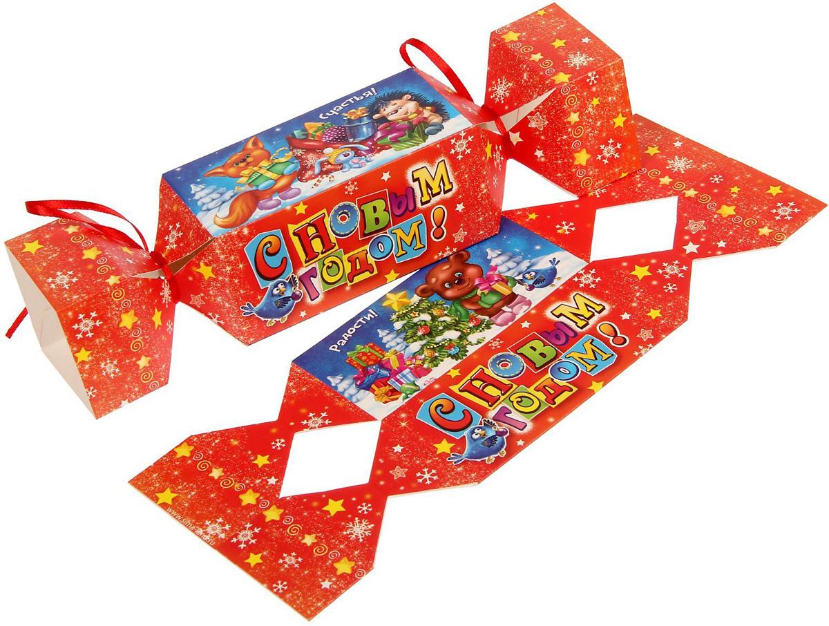 Коробка-конфета складная Sima-land Яркий праздник, 11 х 5 см1363337Любой подарок начинается с упаковки. Что может быть трогательнее и волшебнее, чем ритуал разворачивания полученного презента. И именно оригинальная, со вкусом выбранная упаковка выделит ваш подарок из массы других. Подарочная складная коробка-конфета Sima-land продемонстрирует самые теплые чувства к виновнику торжества и создаст сказочную атмосферу праздника.