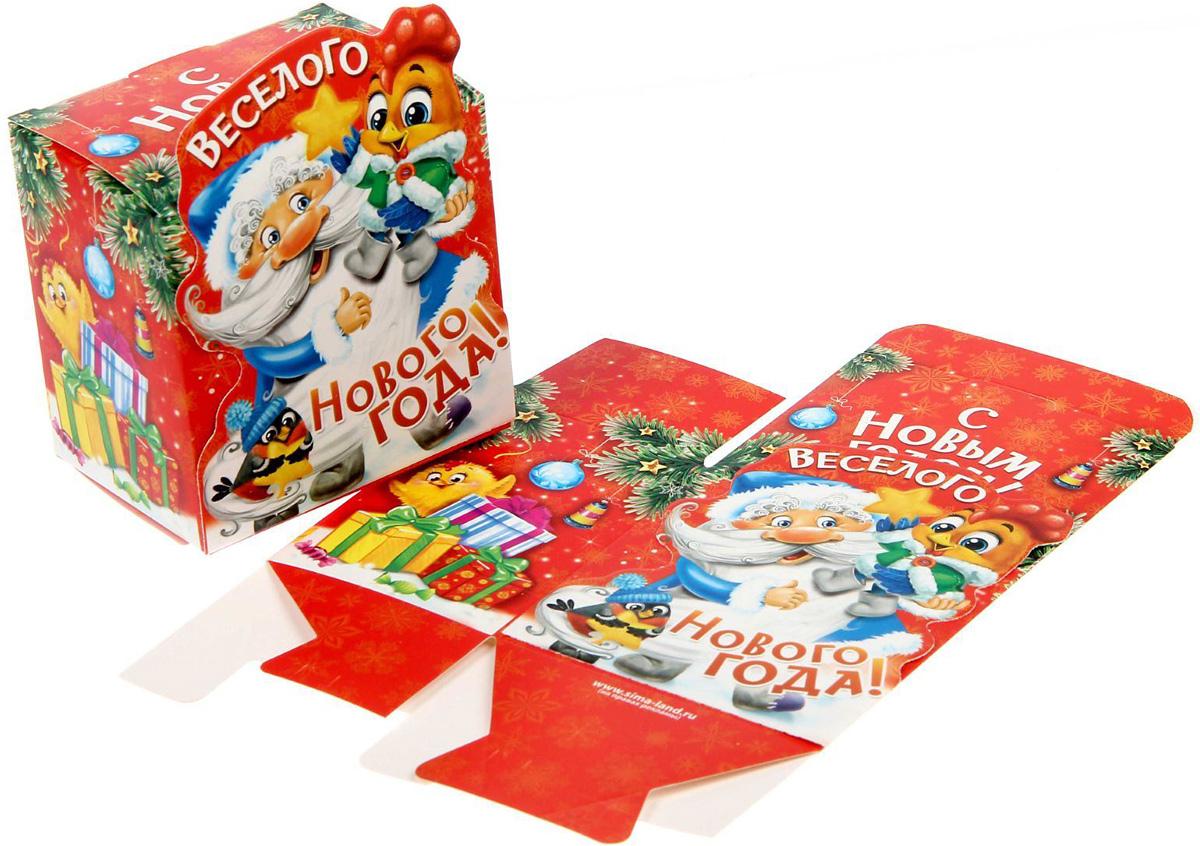 Коробка сборная фигурная Sima-land Веселого Нового года, 8 х 8 х 6 см1371656Любой подарок начинается с упаковки. Что может быть трогательнее и волшебнее, чем ритуал разворачивания полученного презента. И именно оригинальная, со вкусом выбранная упаковка выделит ваш подарок из массы других. Она продемонстрирует самые теплые чувства к виновнику торжества и создаст сказочную атмосферу праздника.