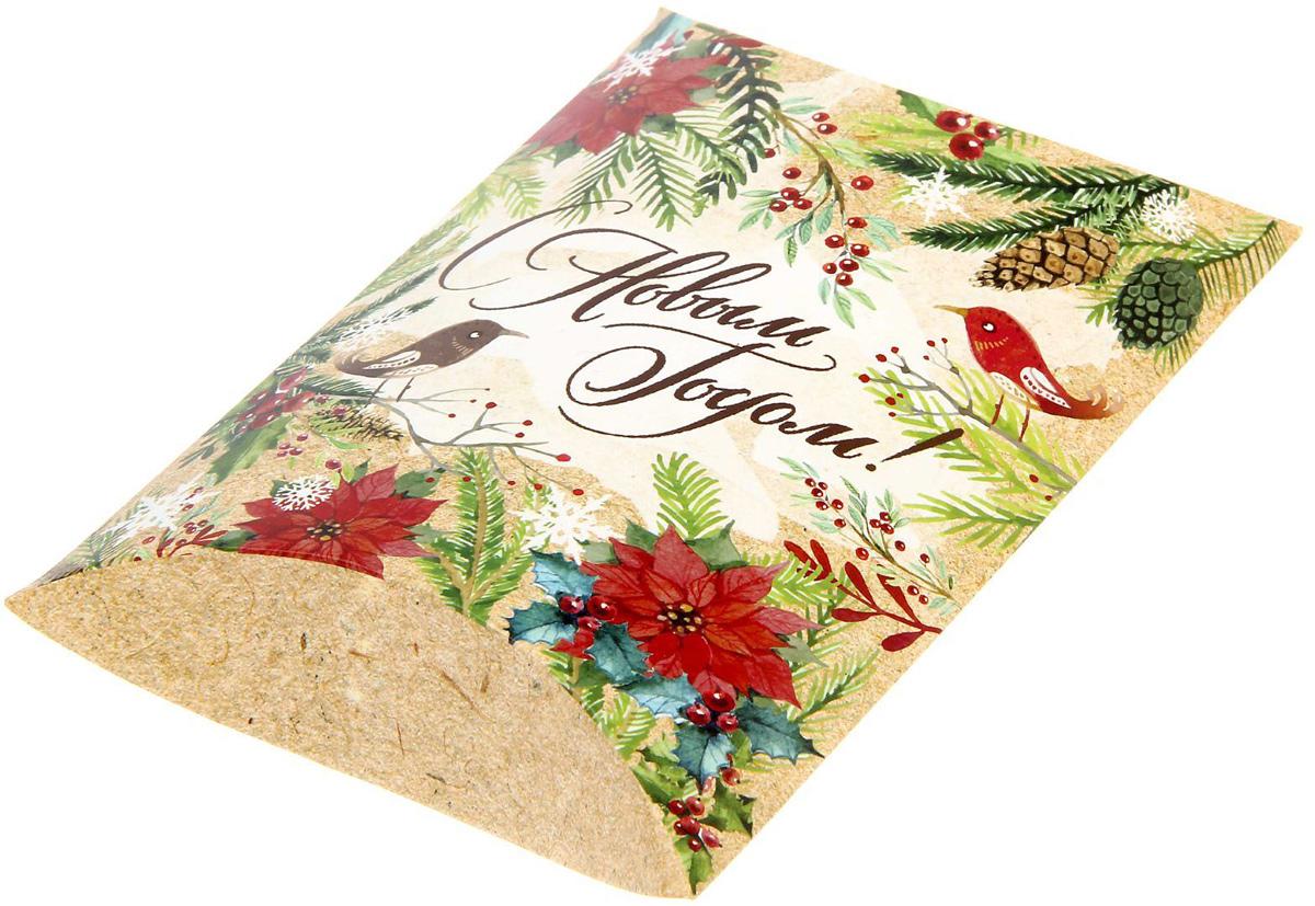 Коробка сборная фигурная Sima-land Новогодние истории, 19 х 14 см1383867Любой подарок начинается с упаковки. Что может быть трогательнее и волшебнее, чем ритуал разворачивания полученного презента. И именно оригинальная, со вкусом выбранная упаковка выделит ваш подарок из массы других. Подарочная коробка Sima-land продемонстрирует самые теплые чувства к виновнику торжества и создаст сказочную атмосферу праздника.
