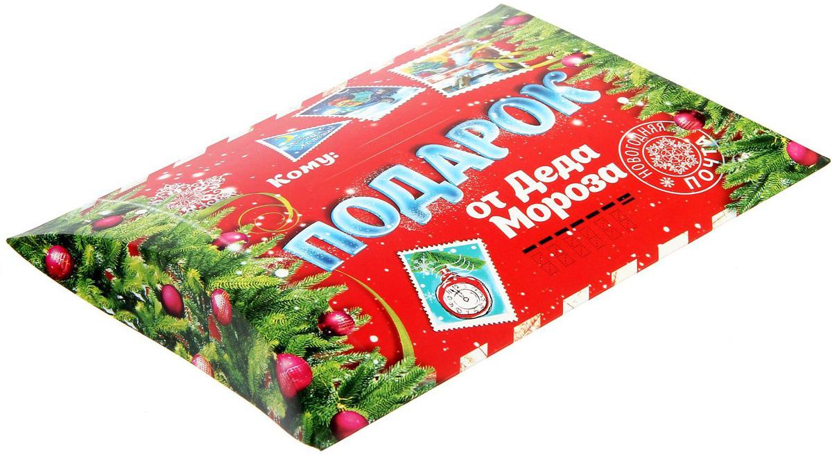 Коробка сборная фигурная Sima-land Подарок от Деда Мороза, 26 х 19 см1383870Любой подарок начинается с упаковки. Что может быть трогательнее и волшебнее, чем ритуал разворачивания полученного презента. И именно оригинальная, со вкусом выбранная упаковка выделит ваш подарок из массы других. Подарочная коробка Sima-land продемонстрирует самые теплые чувства к виновнику торжества и создаст сказочную атмосферу праздника.