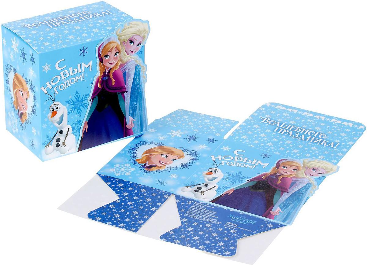 Коробка складная Disney Волшебного праздника. Холодное сердце, 11 х 11 х 8 см1398644Коробка складная Disney Волшебного праздника. Холодное сердце выполнена из картона. Любой подарок начинается с упаковки. Что может быть трогательнее и волшебнее, чем ритуал разворачивания полученного презента. И именно оригинальная, со вкусом выбранная упаковка выделит ваш подарок из массы других. Она продемонстрирует самые теплые чувства к виновнику торжества и создаст сказочную атмосферу праздника. Размер коробки в сложенном виде: 11 х 11 х 8 см.