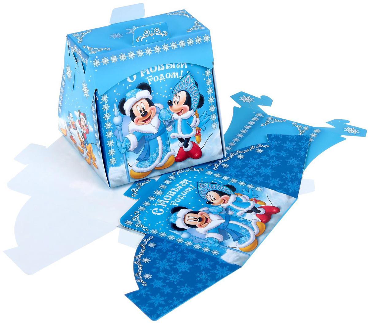 Коробка складная Disney Радости! Микки Маус и друзья, 11,5 х 11,5 х 11,5 см1398647Коробка складная Disney Радости! Микки Маус и друзья выполнена из картона. Любой подарок начинается с упаковки. Что может быть трогательнее и волшебнее, чем ритуал разворачивания полученного презента. И именно оригинальная, со вкусом выбранная упаковка выделит ваш подарок из массы других. Она продемонстрирует самые теплые чувства к виновнику торжества и создаст сказочную атмосферу праздника. Размер коробки в сложенном виде: 11,5 х 11,5 х 11,5 см.