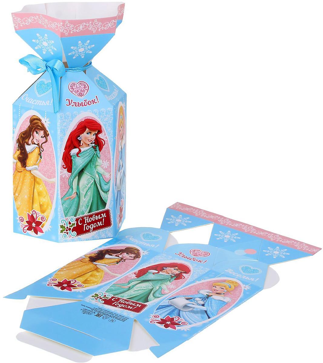 Коробка складная Disney Улыбок. Принцессы, 9 х 4 х 4 см1398648Коробка складная Disney Улыбок. Принцессы выполнена из картона. Любой подарок начинается с упаковки. Что может быть трогательнее и волшебнее, чем ритуал разворачивания полученного презента. И именно оригинальная, со вкусом выбранная упаковка выделит ваш подарок из массы других. Она продемонстрирует самые теплые чувства к виновнику торжества и создаст сказочную атмосферу праздника. Размер коробки в сложенном виде: 9 х 4 х 4 см.