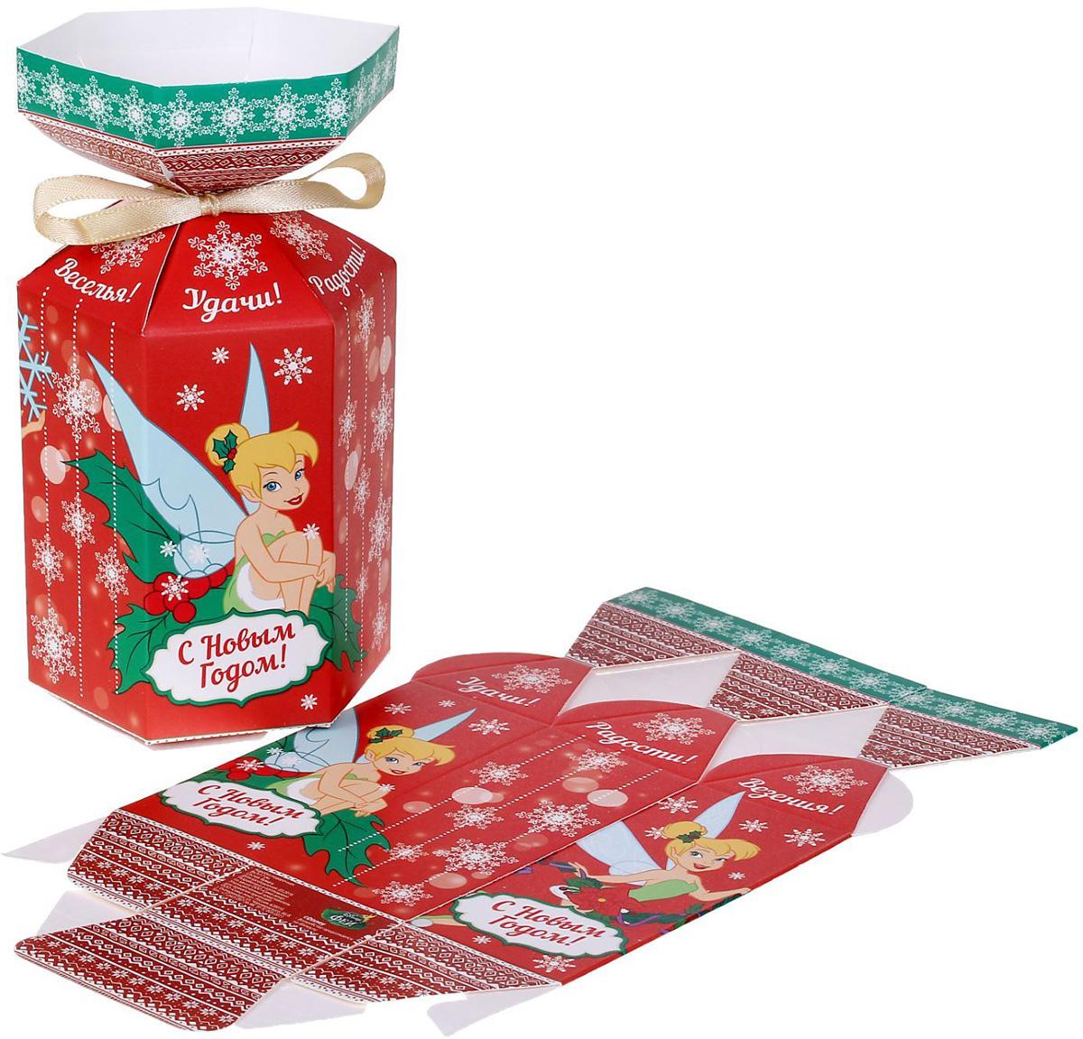 Коробка складная Disney Веселья! Феи, 9 х 4 х 4 см1398651Любой подарок начинается с упаковки. Что может быть трогательнее и волшебнее, чем ритуал разворачивания полученного презента. И именно оригинальная, со вкусом выбранная упаковка выделит ваш подарок из массы других. Она продемонстрирует самые теплые чувства к виновнику торжества и создаст сказочную атмосферу праздника.