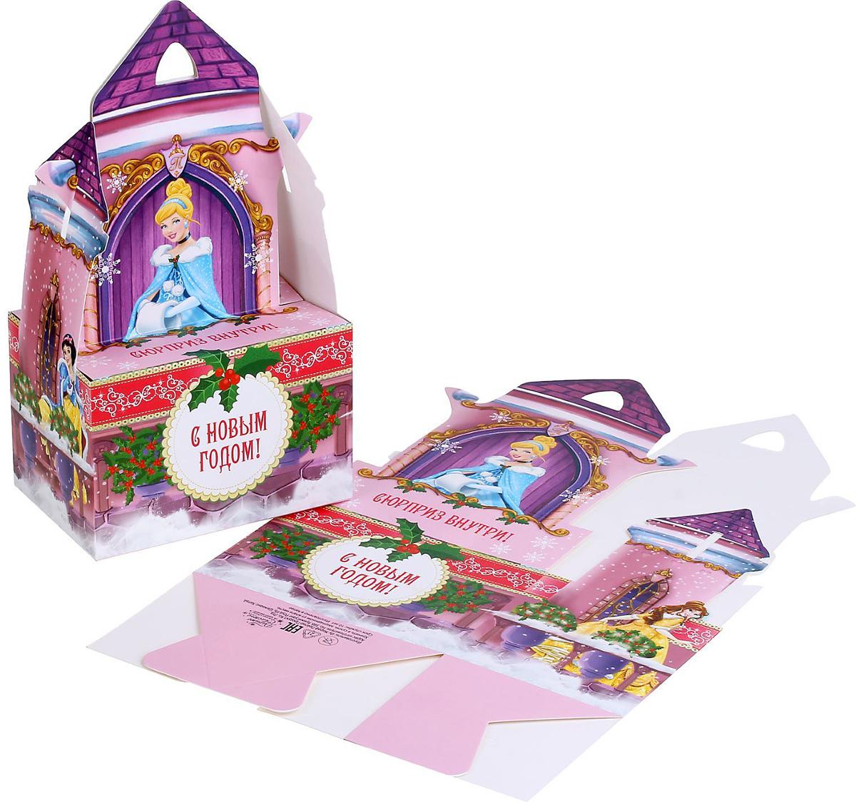 Коробка складная Disney Замок. Принцессы, 15 х 10 х 10 см1398653Коробка складная Disney Замок. Принцессы выполнена из картона. Любой подарок начинается с упаковки. Что может быть трогательнее и волшебнее, чем ритуал разворачивания полученного презента. И именно оригинальная, со вкусом выбранная упаковка выделит ваш подарок из массы других. Она продемонстрирует самые теплые чувства к виновнику торжества и создаст сказочную атмосферу праздника. Размер коробки в сложенном виде: 15 х 10 х 10 см.