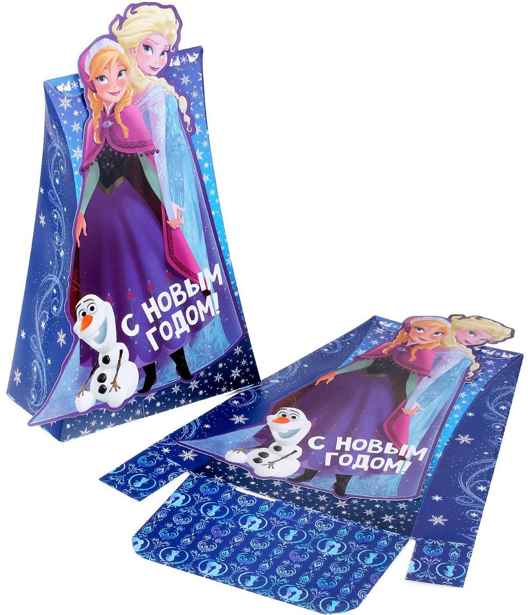 Коробка складная Disney Зимний лабиринт. Холодное сердце, 15,5 х 24 х 8 см1398654Любой подарок начинается с упаковки. Что может быть трогательнее и волшебнее, чем ритуал разворачивания полученного презента. И именно оригинальная, со вкусом выбранная упаковка выделит ваш подарок из массы других. Она продемонстрирует самые теплые чувства к виновнику торжества и создаст сказочную атмосферу праздника.