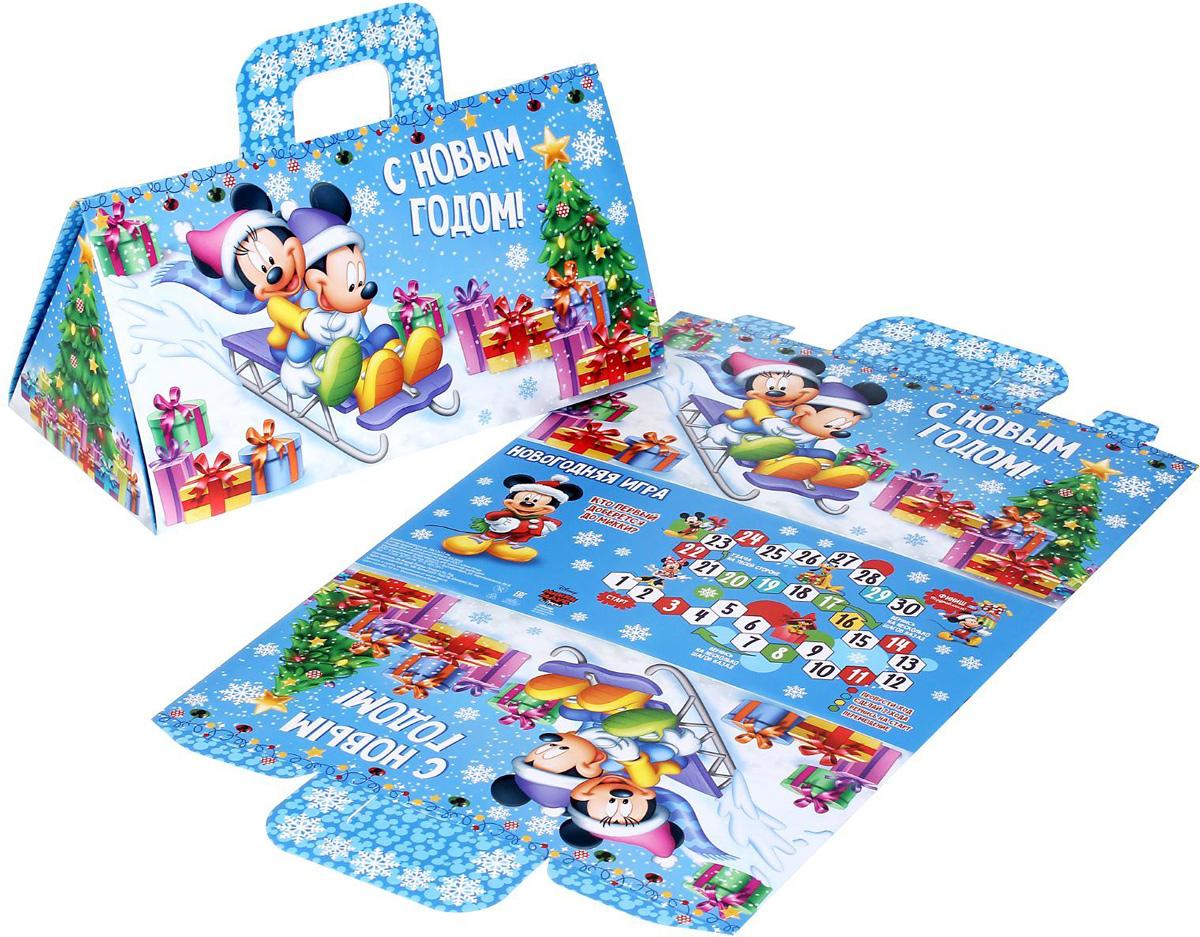 Коробка складная Disney Новогодняя игра. Микки Маус и друзья, 24,5 х 13,5 х 12 см1398655Коробка складная Disney Новогодняя игра. Микки Маус и друзья выполнена из картона. Любой подарок начинается с упаковки. Что может быть трогательнее и волшебнее, чем ритуал разворачивания полученного презента. И именно оригинальная, со вкусом выбранная упаковка выделит ваш подарок из массы других. Она продемонстрирует самые теплые чувства к виновнику торжества и создаст сказочную атмосферу праздника. Размер коробки в сложенном виде: 24,5 х 13,5 х 12 см.