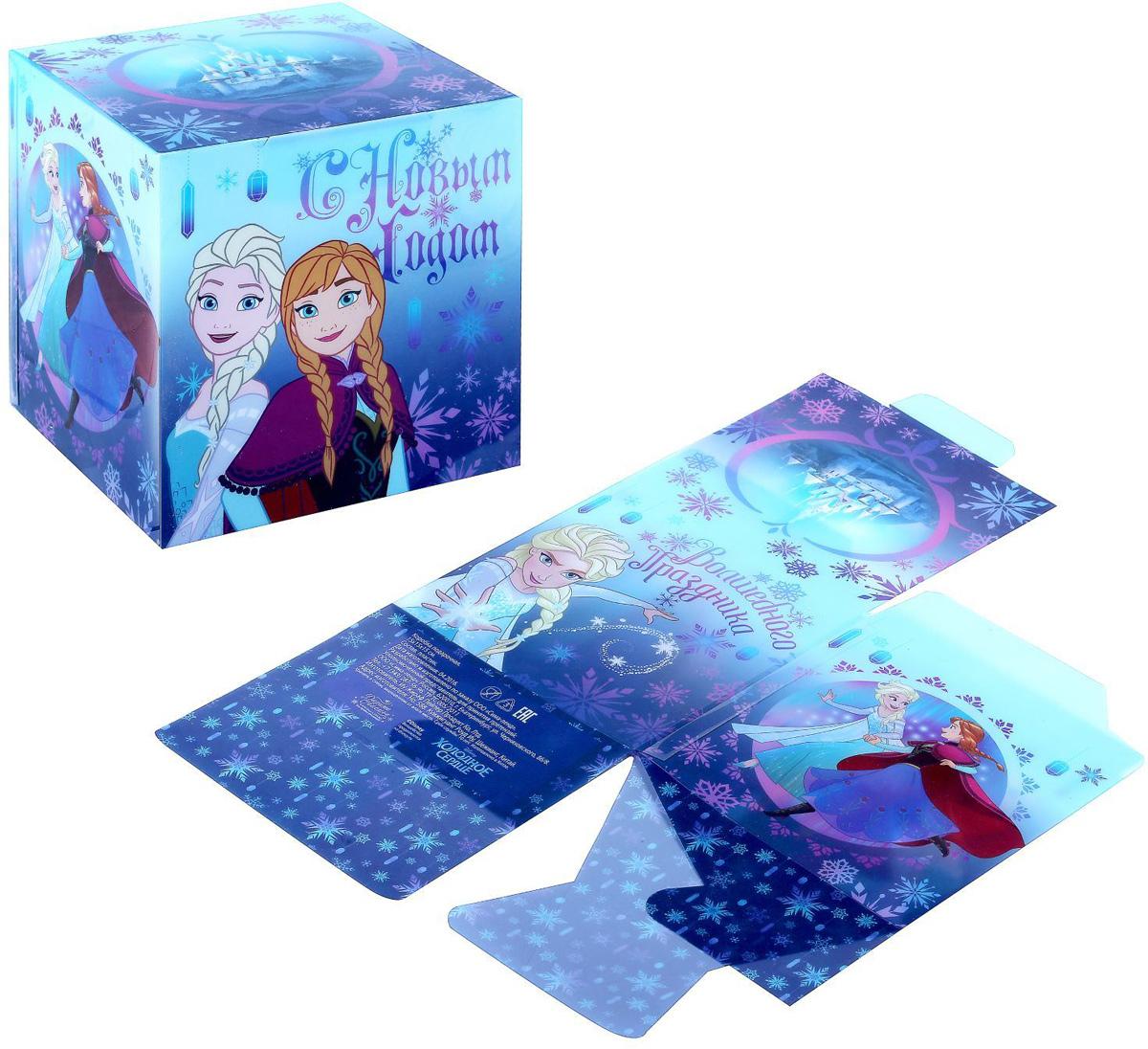 Коробка складная Disney Волшебного праздника! Холодное сердце, 15 х 15 х 15 см1426875Коробка складная Disney Волшебного праздника! Холодное сердце выполнена из пластика. Любой подарок начинается с упаковки. Что может быть трогательнее и волшебнее, чем ритуал разворачивания полученного презента. И именно оригинальная, со вкусом выбранная упаковка выделит ваш подарок из массы других. Она продемонстрирует самые теплые чувства к виновнику торжества и создаст сказочную атмосферу праздника. Размер коробки в сложенном виде: 15 х 15 х 15 см.