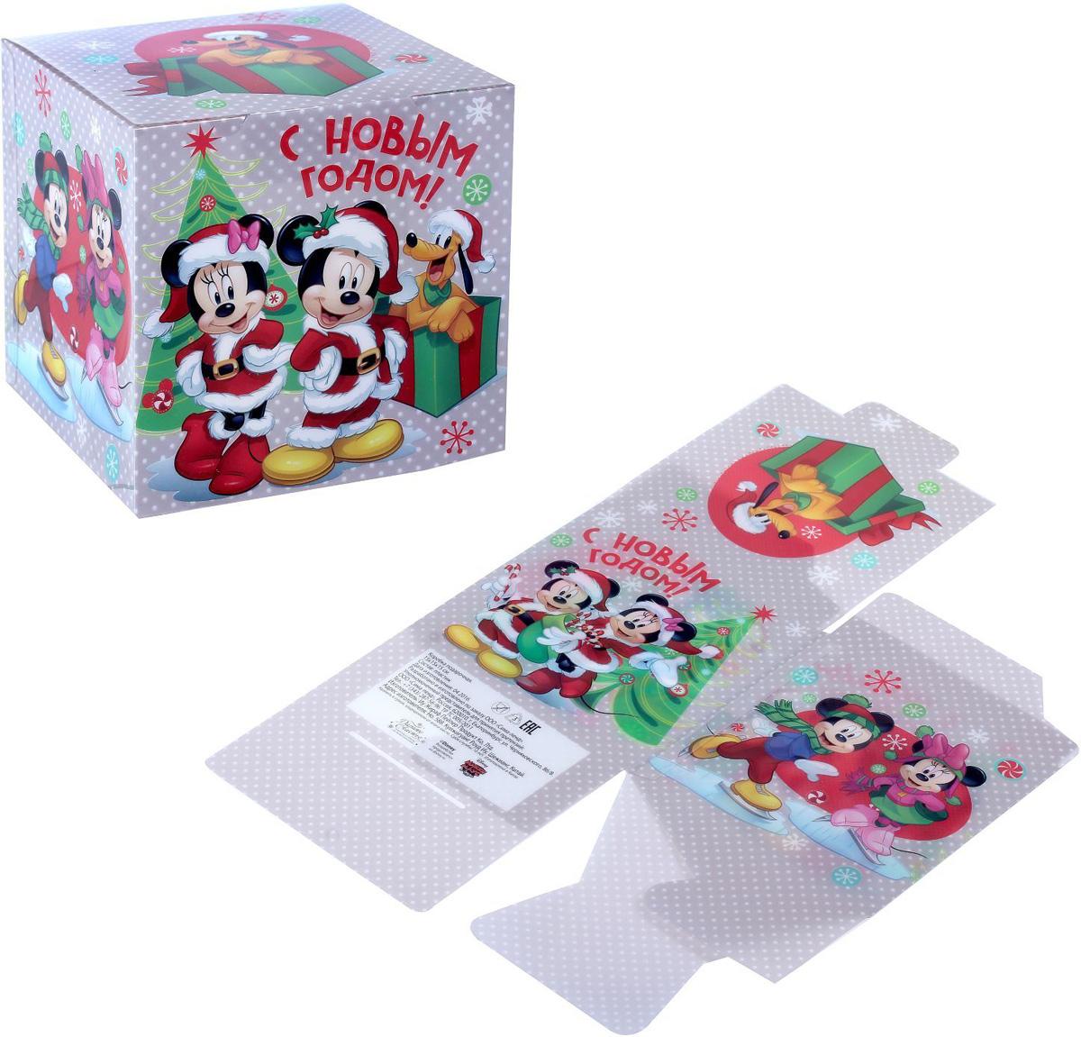Коробка складная Disney Веселого праздника! Микки Маус и друзья, 15 х 15 х 15 см1426877Коробка складная Disney Веселого праздника! Микки Маус и друзья выполнена из пластика. Любой подарок начинается с упаковки. Что может быть трогательнее и волшебнее, чем ритуал разворачивания полученного презента. И именно оригинальная, со вкусом выбранная упаковка выделит ваш подарок из массы других. Она продемонстрирует самые теплые чувства к виновнику торжества и создаст сказочную атмосферу праздника. Размер коробки в сложенном виде: 15 х 15 х 15 см.