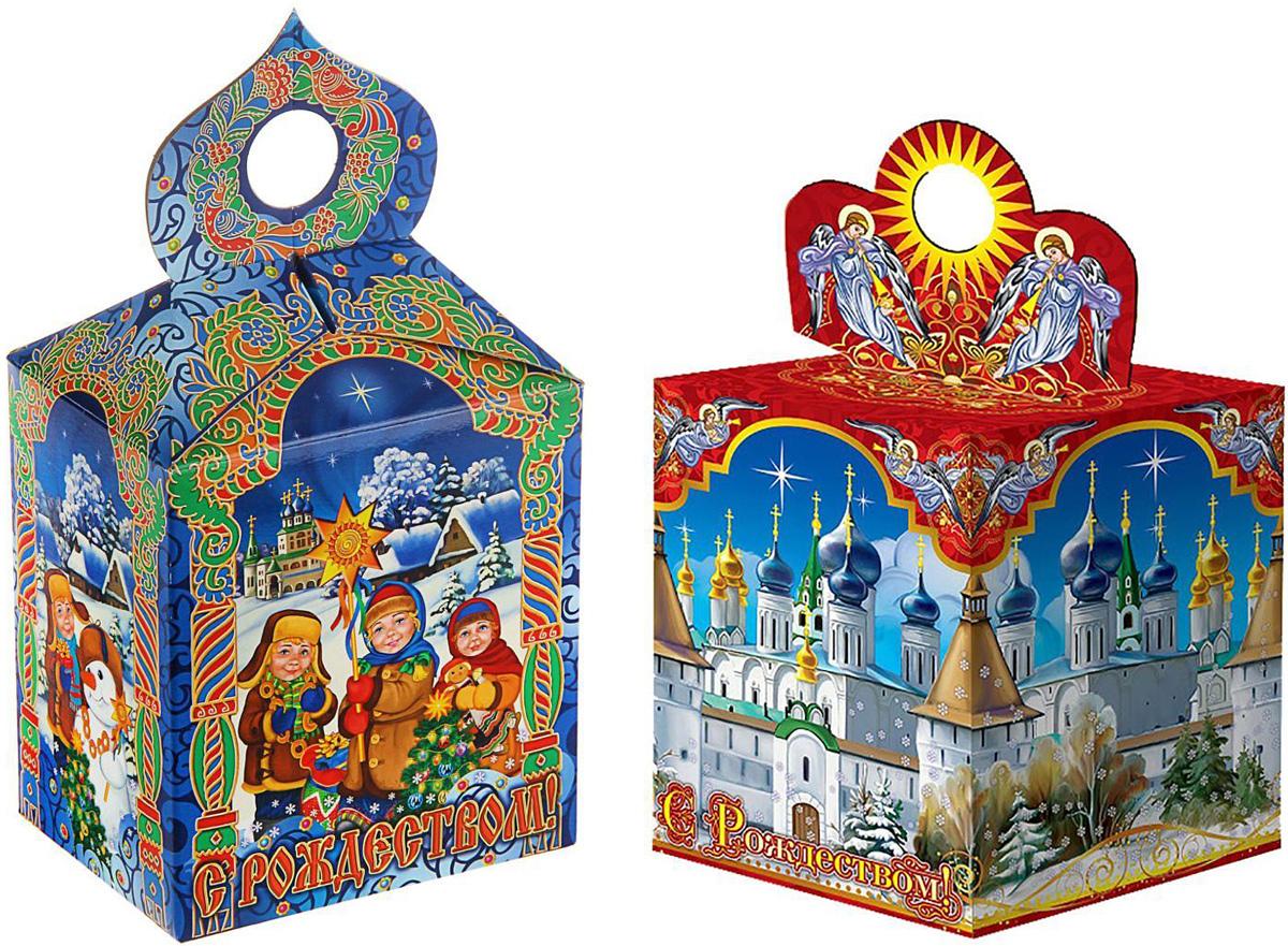 Коробка подарочная Sima-land С Рождеством, сборная, 11,5 х 11,5 х 14,5 см1560899Любой подарок начинается с упаковки. Что может быть трогательнее и волшебнее, чем ритуал разворачивания полученного презента. И именно оригинальная, со вкусом выбранная упаковка выделит ваш подарок из массы других. Подарочная сборная коробка Sima-land продемонстрирует самые теплые чувства к виновнику торжества и создаст сказочную атмосферу праздника.