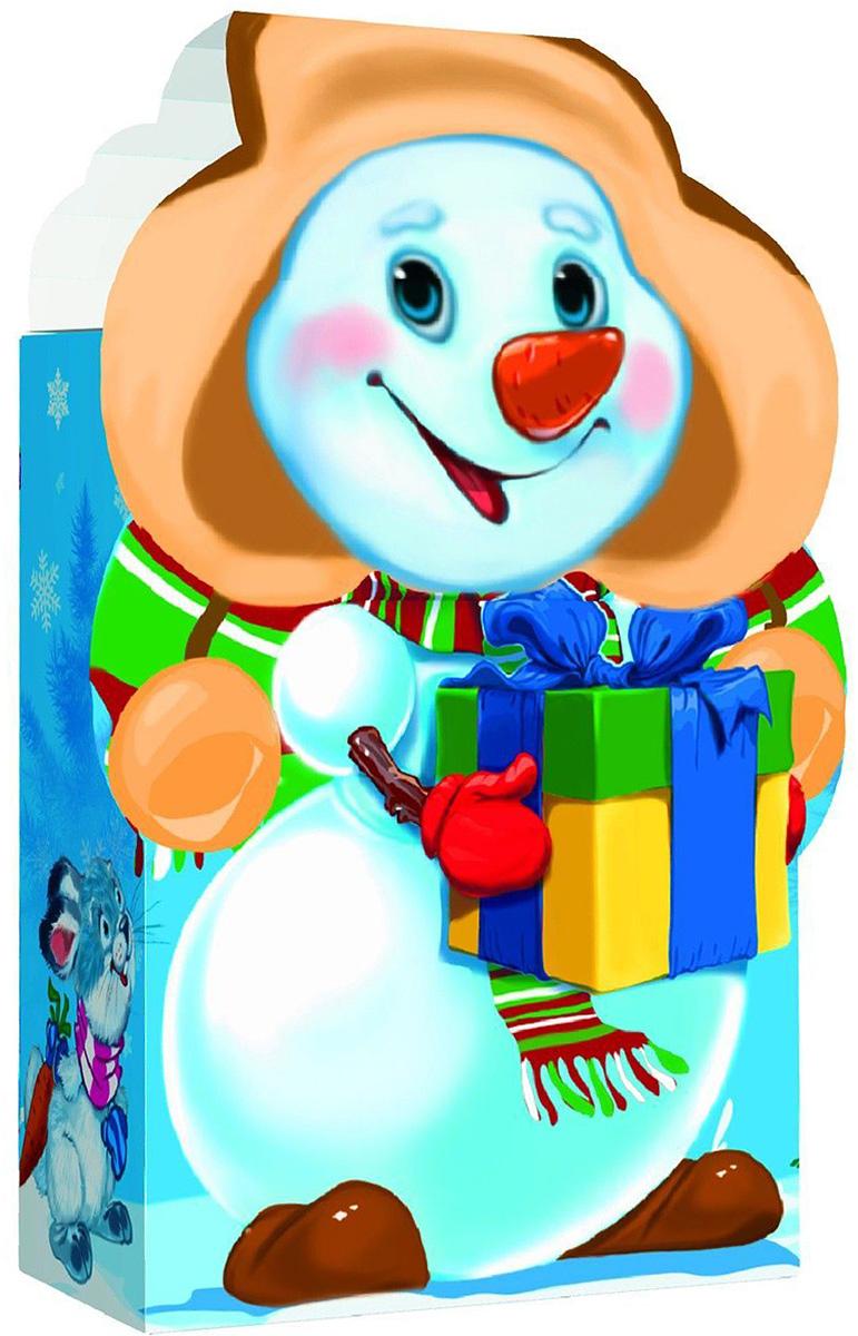 Коробка подарочная Sima-land Снеговик, малая, сборная, 12,5 х 7,5 х 15 см1052987Любой подарок начинается с упаковки. Что может быть трогательнее и волшебнее, чем ритуал разворачивания полученного презента. И именно оригинальная, со вкусом выбранная упаковка выделит ваш подарок из массы других. Подарочная сборная коробка Sima-land продемонстрирует самые теплые чувства к виновнику торжества и создаст сказочную атмосферу праздника.