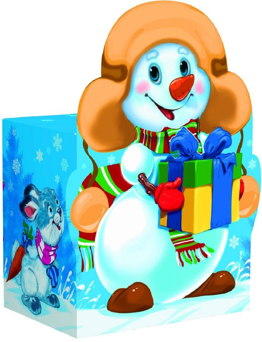 Коробка подарочная Sima-land Снеговик, большая, сборная, 14,5 х 6,5 х 19,5 см1560903Любой подарок начинается с упаковки. Что может быть трогательнее и волшебнее, чем ритуал разворачивания полученного презента. И именно оригинальная, со вкусом выбранная упаковка выделит ваш подарок из массы других. Подарочная сборная коробка Sima-land продемонстрирует самые теплые чувства к виновнику торжества и создаст сказочную атмосферу праздника.