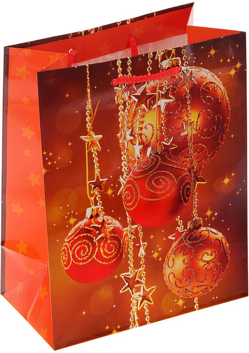 Пакет подарочный Арт и Дизайн Красное золото, 23 х 17,8 х 9,8 см1606119Сделанная своими руками оригинальная упаковка выделит презент из массы других, расскажет о ваших тёплых чувствах, наполнит праздник сказочной атмосферой, Благодаря нашему набору для творчества сделать её не составит труда! Следуйте инструкции, и вы легко создадите яркую, привлекающую внимание коробочку,
