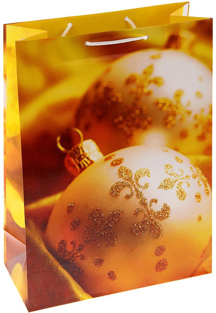 Пакет подарочный Арт и Дизайн Золотые украшения, 42,5 х 33 х 10 см1606201Сделанная своими руками оригинальная упаковка выделит презент из массы других, расскажет о ваших тёплых чувствах, наполнит праздник сказочной атмосферой, Благодаря нашему набору для творчества сделать её не составит труда! Следуйте инструкции, и вы легко создадите яркую, привлекающую внимание коробочку.
