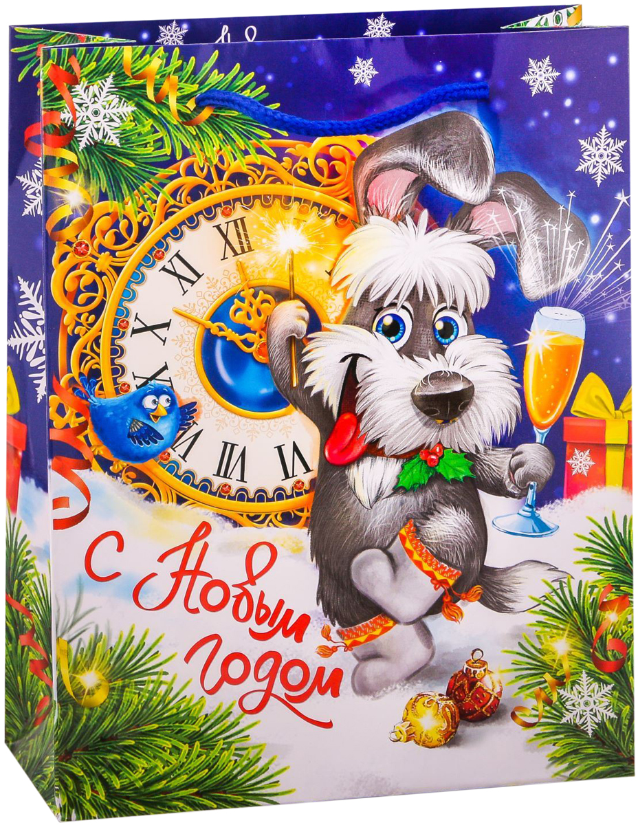 Пакет подарочный Дарите Счастье Новогоднее празднество, вертикальный, 18 х 23 х 8 см2113729Привлекательная упаковка послужит достойным украшением любого, даже самого скромного подарка. Она поможет создать интригу и продлить время предвкушения чуда - момента, когда презент окажется в руках адресата.Подарочный пакет Дарите Счастье Новогоднее празднество имеет яркий, оригинальный дизайн, который обязательно понравится получателю! Изделие выполнено из плотной бумаги, благодаря чему обеспечит надёжную защиту содержимого. Размер: 18 х 23 х 8 см.