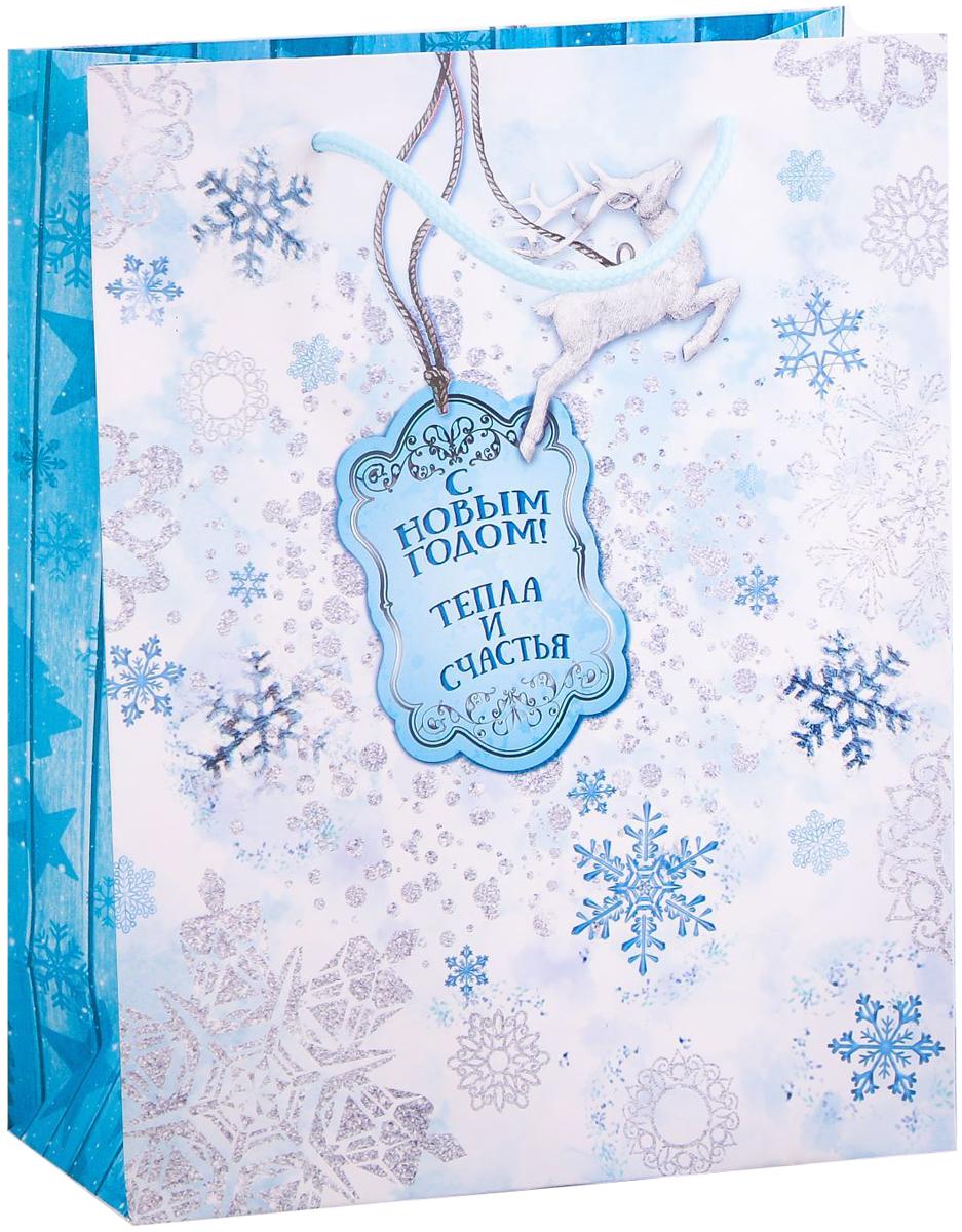 Пакет подарочный Дарите Счастье Тепла и счастья!, вертикальный, 18 х 23 х 8 см2113794Привлекательная упаковка послужит достойным украшением любого, даже самого скромного подарка. Она поможет создать интригу и продлить время предвкушения чуда - момента, когда презент окажется в руках адресата.Подарочный пакет Дарите Счастье Тепла и счастья! имеет яркий, оригинальный дизайн, который обязательно понравится получателю! Изделие выполнено из плотной бумаги, благодаря чему обеспечит надёжную защиту содержимого. Размер: 18 х 23 х 8 см.