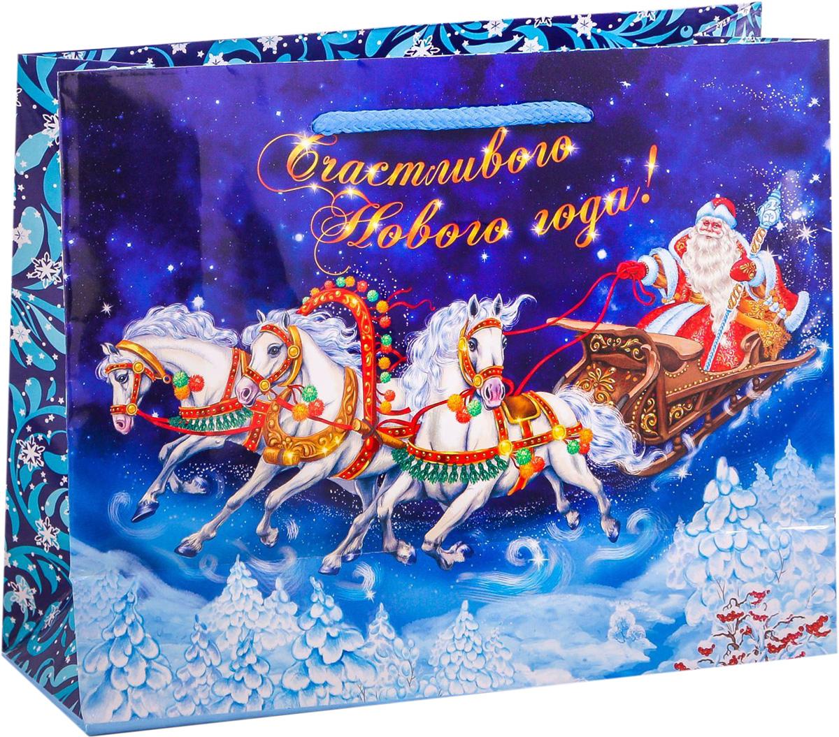 Пакет подарочный Дарите Счастье Волшебство, горизонтальный, 23 х 18 х 8 см2113808Привлекательная упаковка послужит достойным украшением любого, даже самого скромного подарка. Она поможет создать интригу и продлить время предвкушения чуда - момента, когда презент окажется в руках адресата. Подарочный пакет Дарите Счастье Волшебство имеет яркий, оригинальный дизайн, который обязательно понравится получателю! Изделие выполнено из плотной бумаги, благодаря чему обеспечит надёжную защиту содержимого.Размер: 23 х 18 х 8 см.