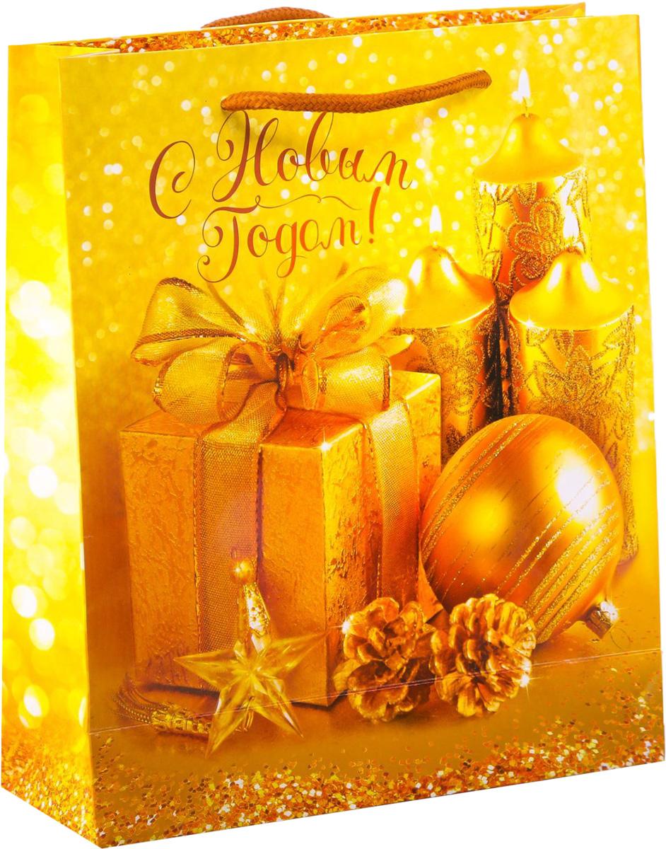 Пакет подарочный Дарите Счастье Дороже золота, вертикальный, 23 х 27 х 8 см2113827Привлекательная упаковка послужит достойным украшением любого, даже самого скромного подарка. Она поможет создать интригу и продлить время предвкушения чуда - момента, когда презент окажется в руках адресата. Подарочный пакет Дарите Счастье Дороже золота имеет яркий, оригинальный дизайн, который обязательно понравится получателю! Изделие выполнено из плотной бумаги, благодаря чему обеспечит надёжную защиту содержимого.Размер: 23 х 27 х 8 см.