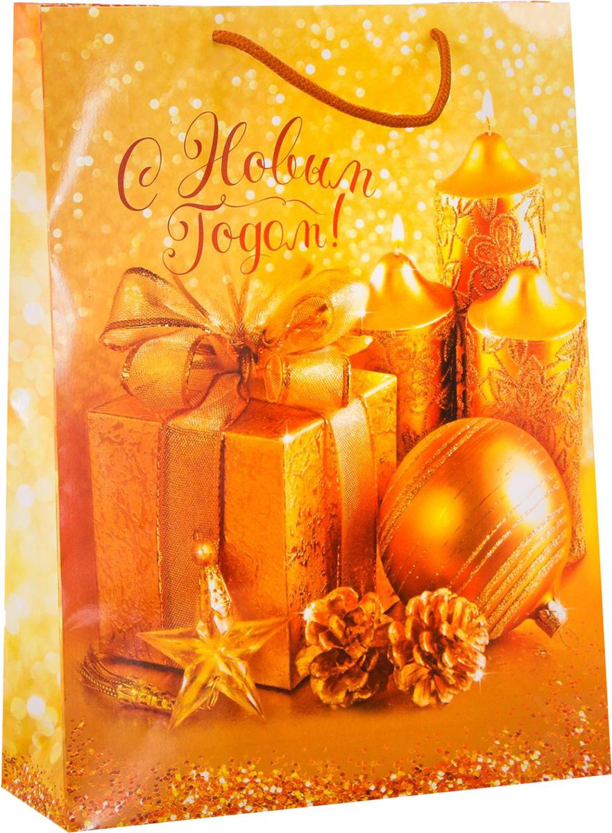 Пакет подарочный Дарите Счастье Дороже золота, вертикальный, 31 х 40 х 9 см1371662Привлекательная упаковка послужит достойным украшением любого, даже самого скромного подарка. Она поможет создать интригу и продлить время предвкушения чуда - момента, когда презент окажется в руках адресата.Подарочный пакет Дарите Счастье Дороже золота имеет яркий, оригинальный дизайн, который обязательно понравится получателю! Изделие выполнено из плотной бумаги, благодаря чему обеспечит надёжную защиту содержимого. Размер: 31 х 40 х 9 см.