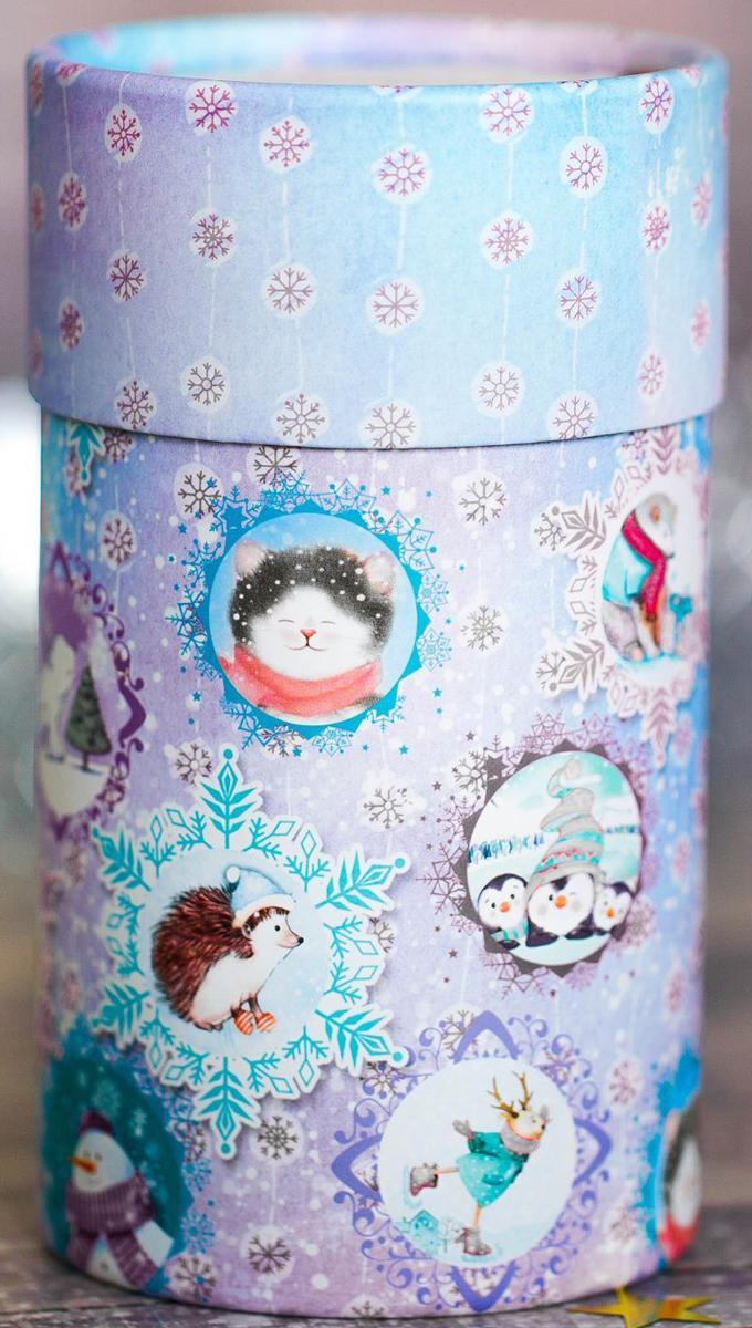 Коробка-тубус подарочная Sima-land Волшебство вокруг, 8 х 14,5 см2353305Любой подарок начинается с упаковки. Что может быть трогательнее и волшебнее, чем ритуал разворачивания полученного презента. И именно оригинальная, со вкусом выбранная упаковка выделит ваш подарок из массы других. Подарочная коробка-тубус Sima-land продемонстрирует самые теплые чувства к виновнику торжества и создаст сказочную атмосферу праздника.