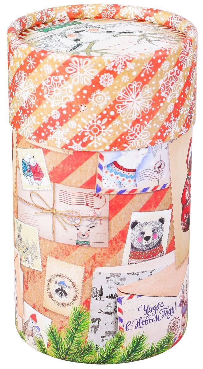 Коробка-тубус подарочная Sima-land Чудес в Новом году, 8 х 14,5 см2353309Любой подарок начинается с упаковки. Что может быть трогательнее и волшебнее, чем ритуал разворачивания полученного презента. И именно оригинальная, со вкусом выбранная упаковка выделит ваш подарок из массы других. Подарочная коробка-тубус Sima-land продемонстрирует самые теплые чувства к виновнику торжества и создаст сказочную атмосферу праздника.