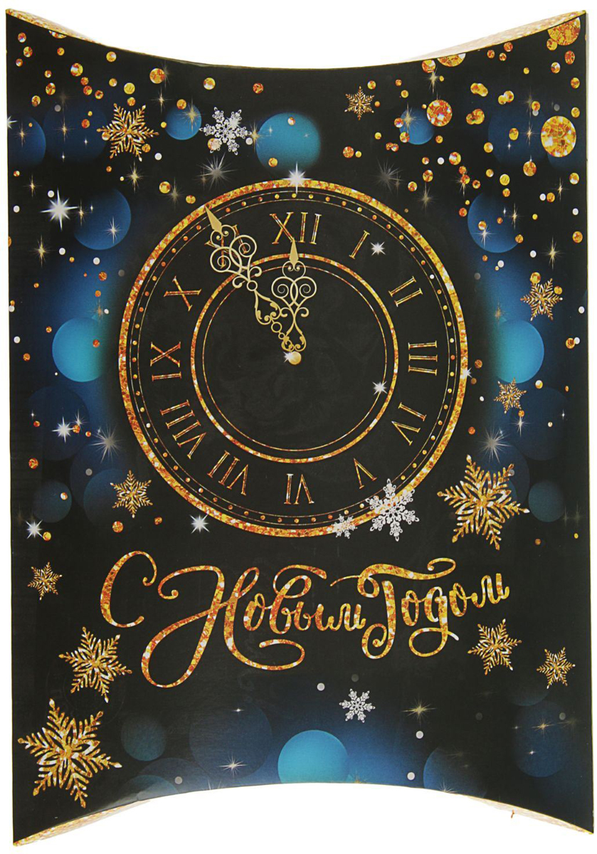 Коробка сборная фигурная Sima-land Новогодние часы, 26 х 19 см2427870Любой подарок начинается с упаковки. Что может быть трогательнее и волшебнее, чем ритуал разворачивания полученного презента. И именно оригинальная, со вкусом выбранная упаковка выделит ваш подарок из массы других. Подарочная коробка Sima-land продемонстрирует самые теплые чувства к виновнику торжества и создаст сказочную атмосферу праздника.