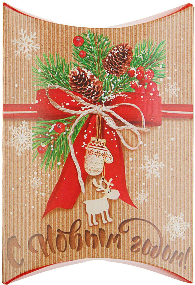 Коробка сборная фигурная Sima-land Подарок своими руками, 11 х 8 см2427872Любой подарок начинается с упаковки. Что может быть трогательнее и волшебнее, чем ритуал разворачивания полученного презента. И именно оригинальная, со вкусом выбранная упаковка выделит ваш подарок из массы других. Подарочная коробка Sima-land продемонстрирует самые теплые чувства к виновнику торжества и создаст сказочную атмосферу праздника.