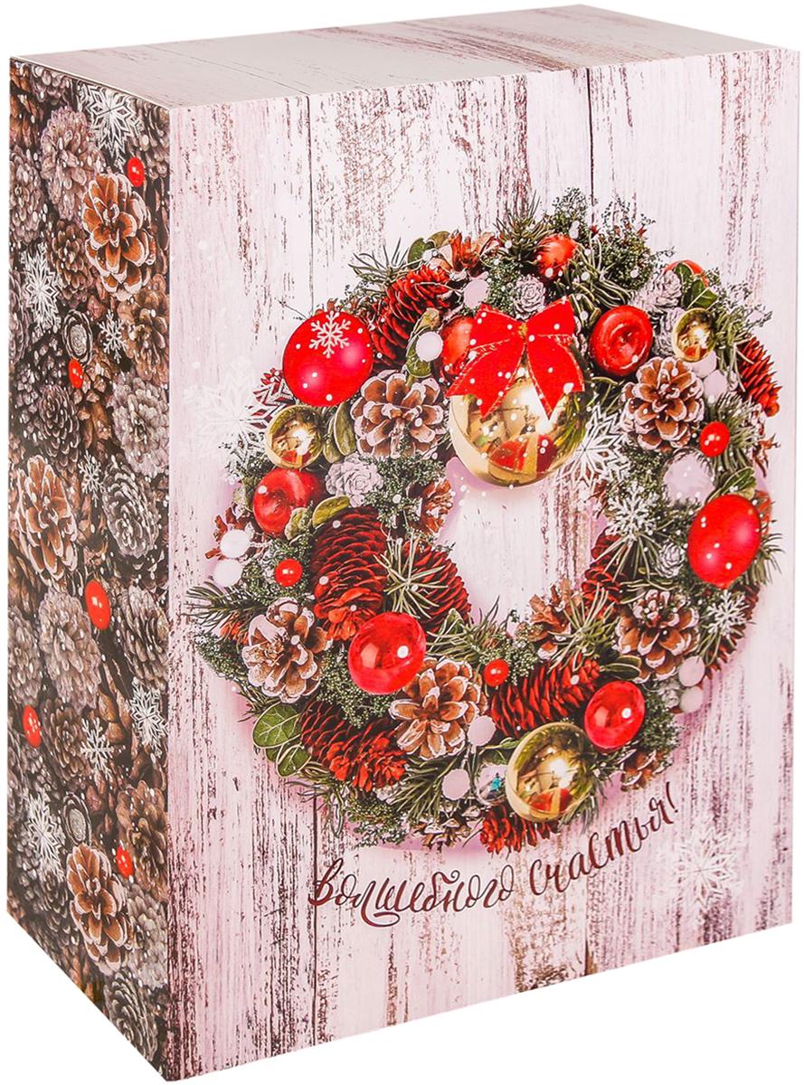 Коробка складная Дарите счастье Волшебного счастья, цвет: бежевый, 22 х 30 х 10 см2450834Любой подарок начинается с упаковки. Что может быть трогательнее и волшебнее, чем ритуал разворачивания полученного презента. И именно оригинальная, со вкусом выбранная упаковка выделит ваш подарок из массы других. Складная коробка Дарите счастье Волшебного счастья продемонстрирует самые теплые чувства к виновнику торжества и создаст сказочную атмосферу праздника.Размер: 22 х 30 х 10 см.