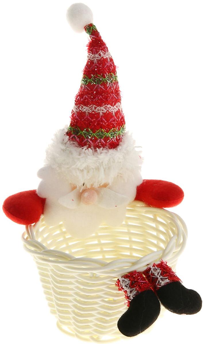 Упаковка подарочная Страна Карнавалия Конфетница. Дед Мороз, цвет: белый, красный511928Подарочная упаковка Страна Карнавалия Конфетница. Дед Мороз- это волшебная корзинка, которая превратит обычные сладости в самый запоминающийся подарок. Наполните ее различными лакомствами и поставьте под елку. Нарядная конфетница непременно привлечет к себе внимание, а яркий символичный персонаж создаст новогоднее настроение. Когда праздники закончатся, в такой емкости будет удобно хранить различные мелочи или наполнять конфетами и угощать гостей! Размер: 10 х 19 см.