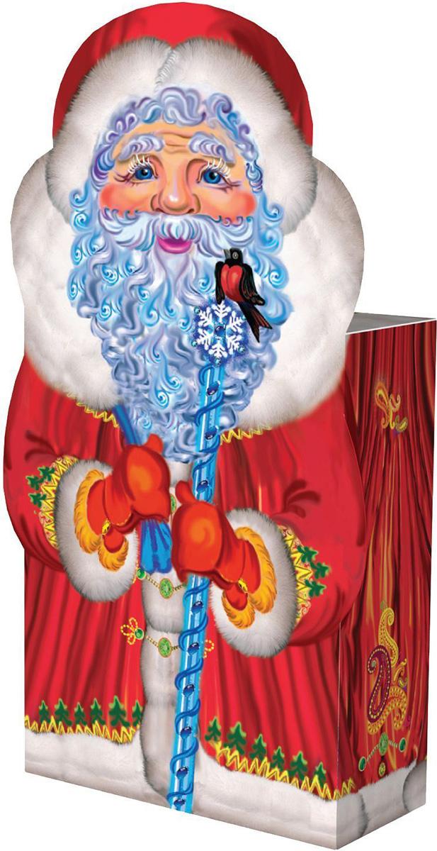 Коробка подарочная Sima-land Дедушка Мороз, большая, сборная, 14,5 х 6,5 х 19,5 см882471Любой подарок начинается с упаковки. Что может быть трогательнее и волшебнее, чем ритуал разворачивания полученного презента. И именно оригинальная, со вкусом выбранная упаковка выделит ваш подарок из массы других. Подарочная сборная коробка Sima-land продемонстрирует самые теплые чувства к виновнику торжества и создаст сказочную атмосферу праздника.