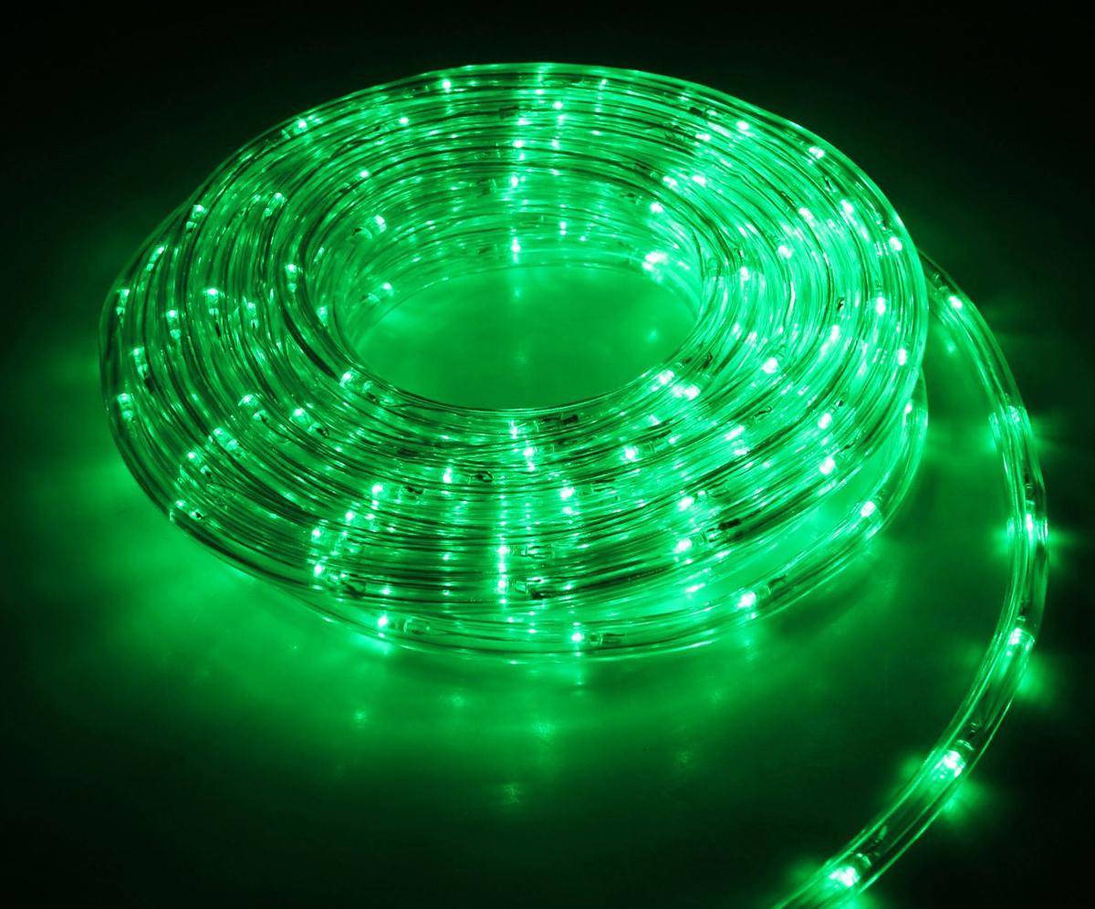 Гирлянда светодиодная Luazon, 120 ламп, 8 режимов, 220 V, цвет: зеленый, 1 см х 5 м. 15898211589821Светодиодные гирлянды, ленты и т.д — это отличный вариант для новогоднего оформления интерьера или фасада. С их помощью помещение любого размера можно превратить в праздничный зал, а внешние элементы зданий, украшенные ими, мгновенно станут напоминать очертания сказочного дворца. Такие украшения создают ауру предвкушения чуда. Деревья, фасады, витрины, окна и арки будто специально созданы, чтобы вы украсили их светящимися нитями.