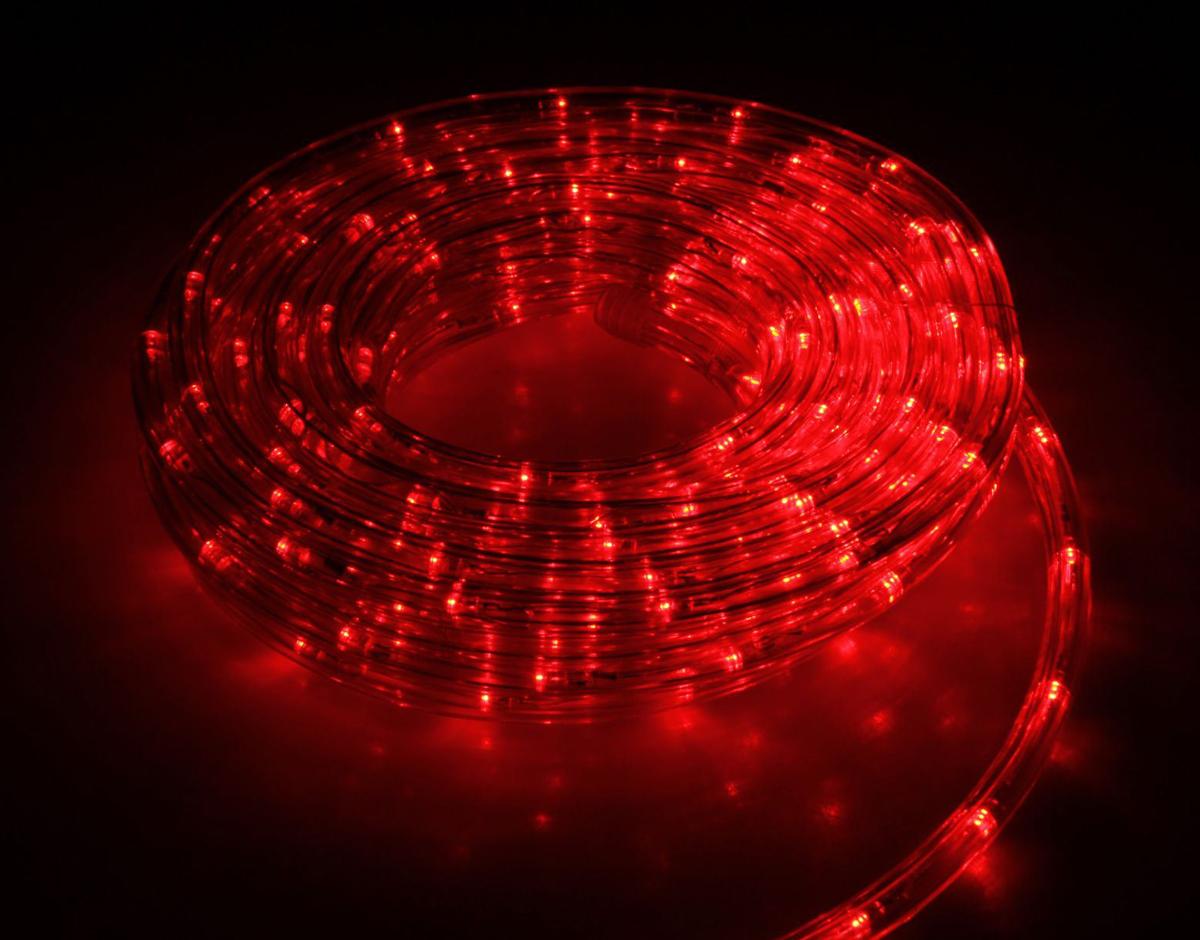 Гирлянда светодиодная Luazon, 120 ламп, 8 режимов, 220 V, цвет: красный, 1 см х 5 м. 15898221589822Светодиодные гирлянды, ленты и т.д — это отличный вариант для новогоднего оформления интерьера или фасада. С их помощью помещение любого размера можно превратить в праздничный зал, а внешние элементы зданий, украшенные ими, мгновенно станут напоминать очертания сказочного дворца. Такие украшения создают ауру предвкушения чуда. Деревья, фасады, витрины, окна и арки будто специально созданы, чтобы вы украсили их светящимися нитями.
