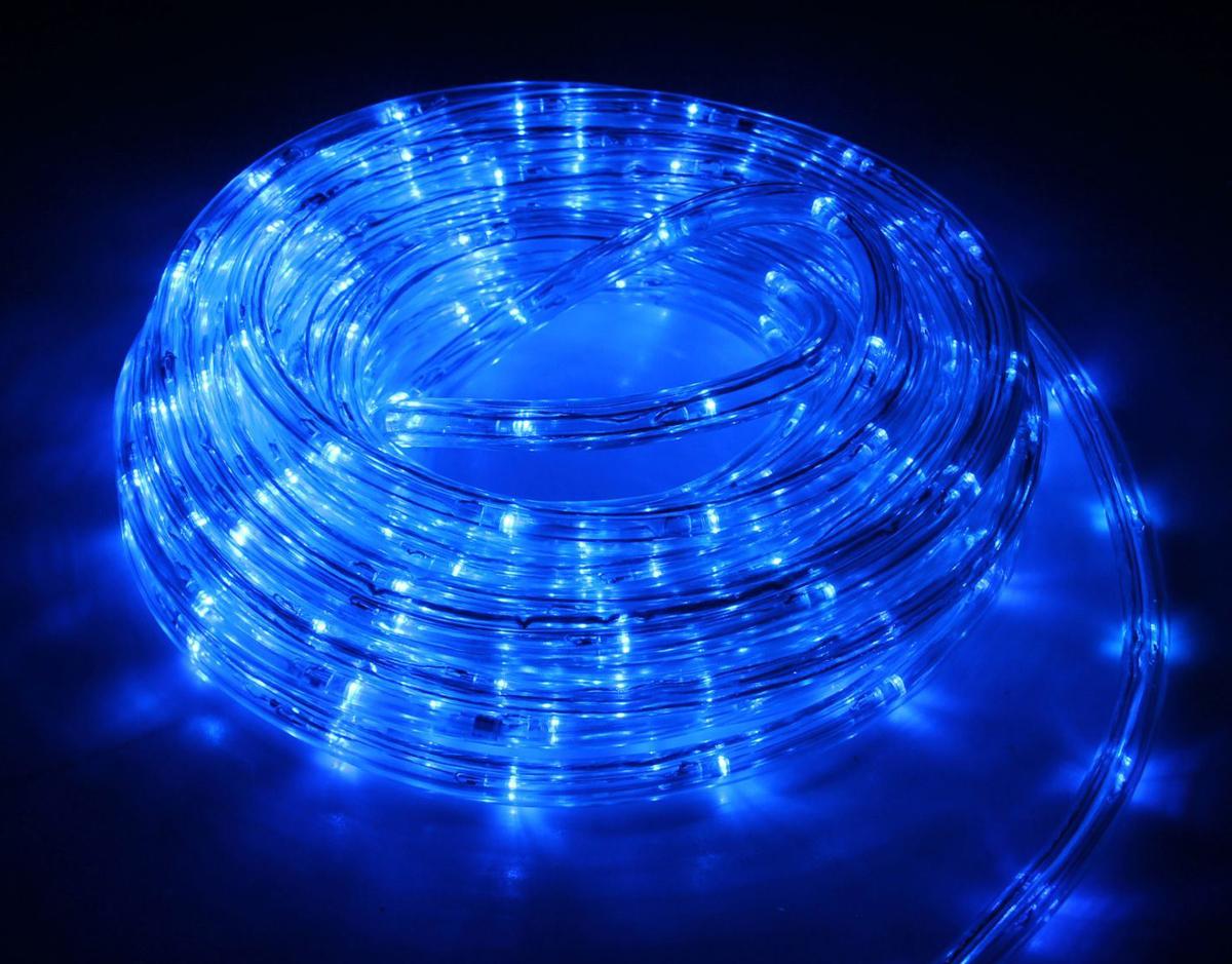 Гирлянда светодиодная Luazon, 440 ламп, 8 режимов, 220 V, цвет: синий, 1 см х 20 м. 15898341589834Гирлянда светодиодная Luazon - это отличный вариант для новогоднего оформления интерьера или фасада. С ее помощью помещение любого размера можно превратить в праздничный зал, а внешние элементы зданий, украшенные гирляндой, мгновенно станут напоминать очертания сказочного дворца. Такое украшение создаст ауру предвкушения чуда. Деревья, фасады, витрины, окна и арки будто специально созданы, чтобы вы украсили их светящимися нитями.